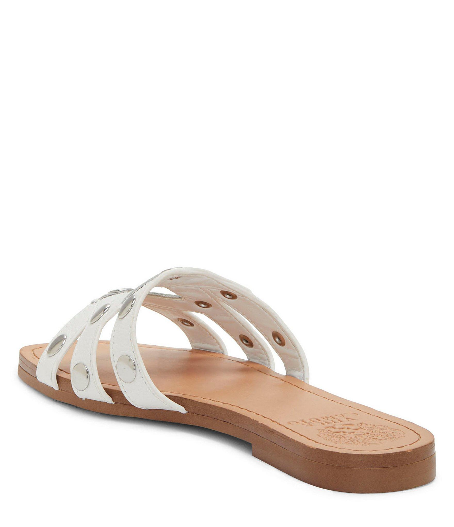 a867842a2150 Vince Camuto - Multicolor Vazista Leather Stud Slides - Lyst. View  fullscreen