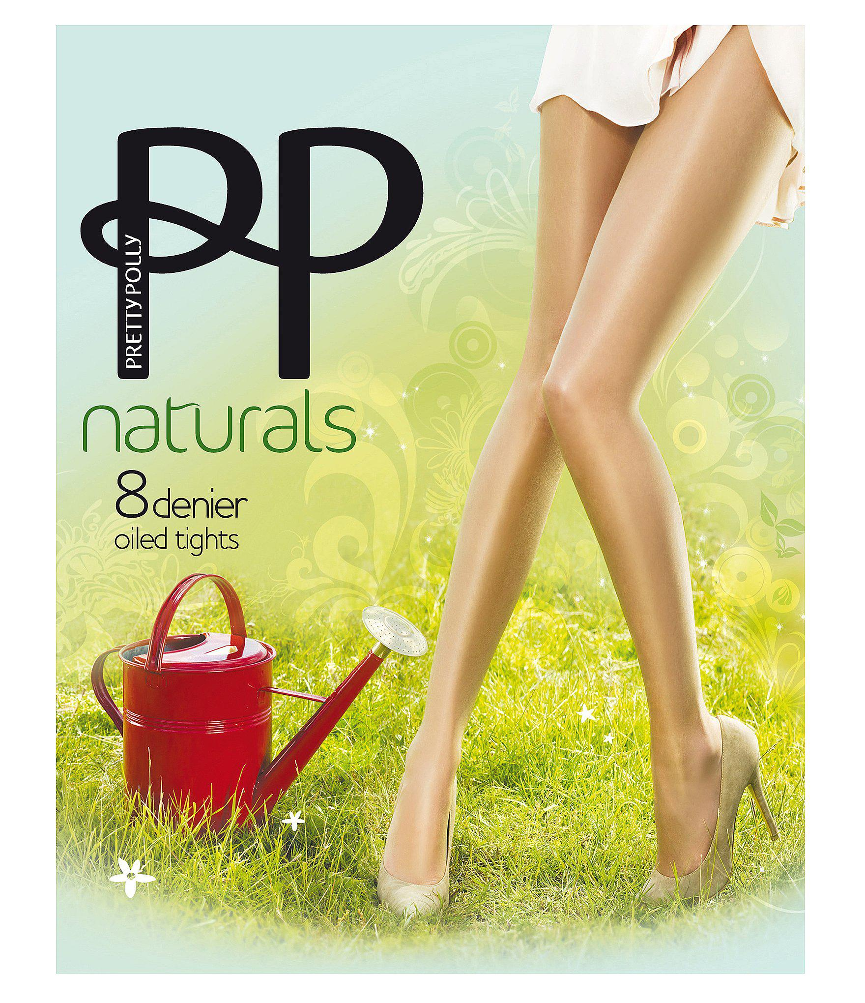 502ab1717 Pretty Polly - Oiled Naturals Sheen Pantyhose - Lyst. View fullscreen