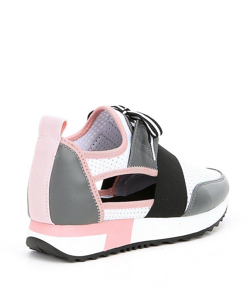 e803e380d92 Lyst - Steve Madden Arctic Cutout Sneakers