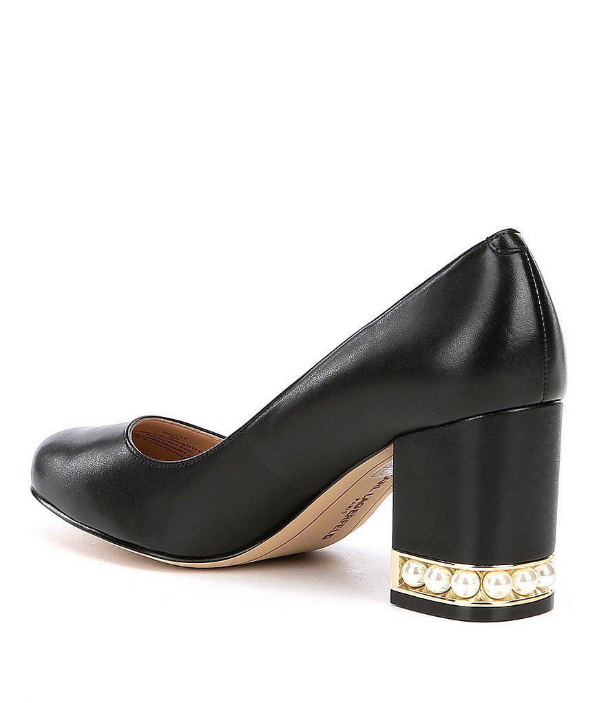 6036745418d Lyst - Karl Lagerfeld Sally Dress Pumps in Black