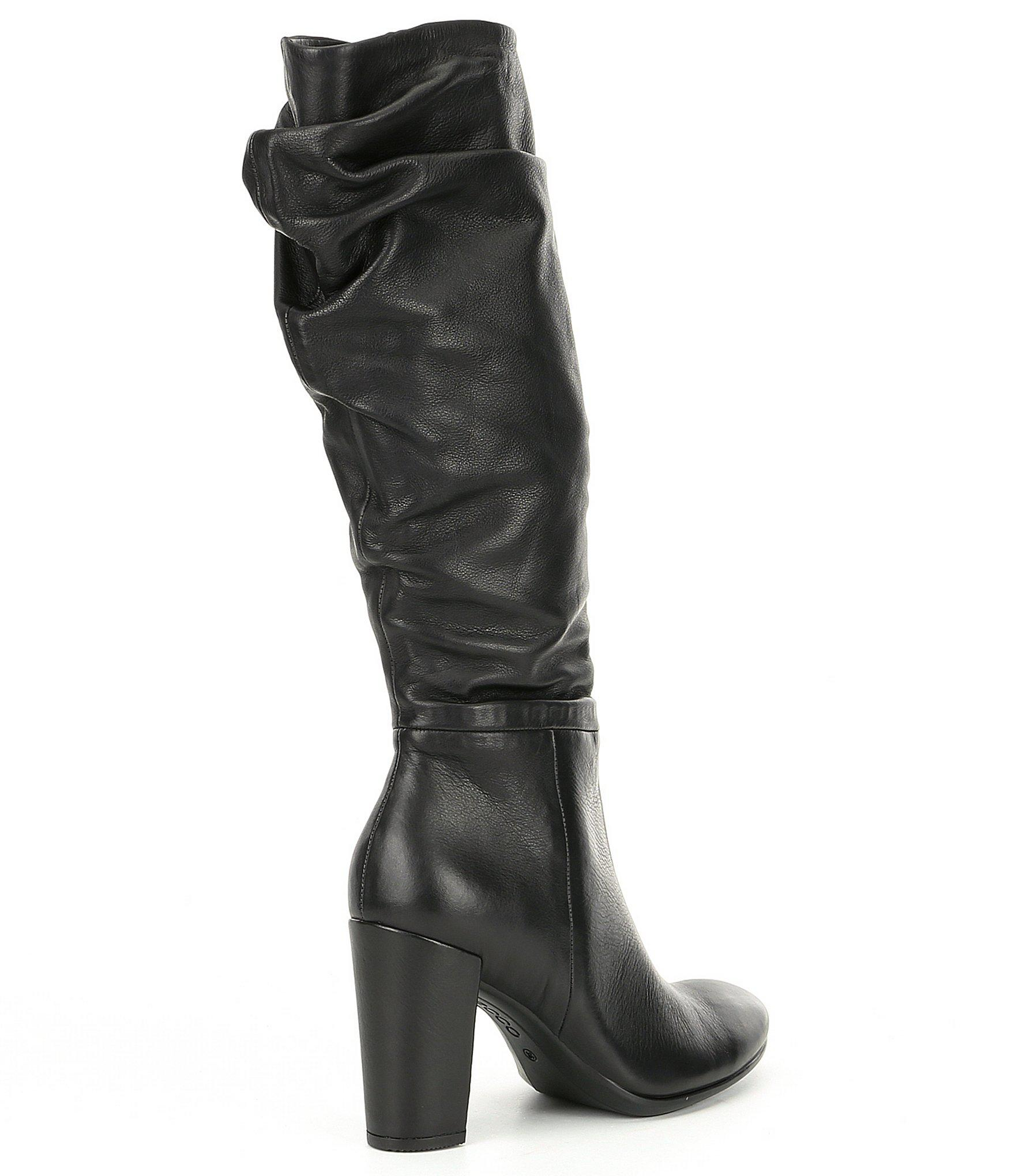 9a60386b306 Lyst - Ecco Shape 75 Slouch Tall Boots in Black