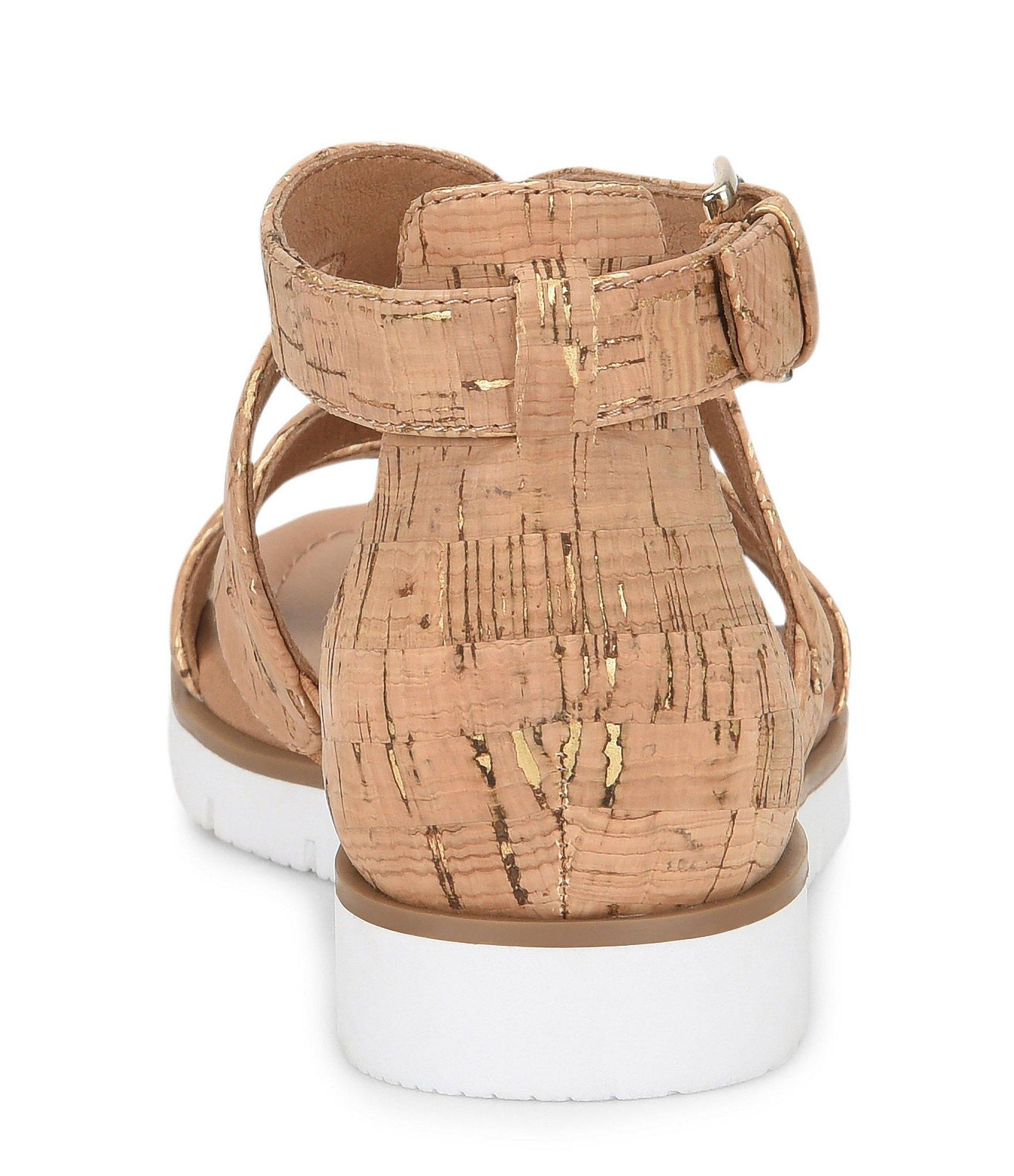 404e85f0326 Lyst - Söfft Malana Cork Sport Wedge Sandal in Brown