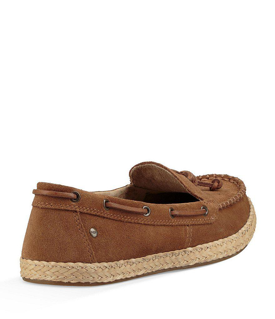 Channtal Suede Slip-Ons