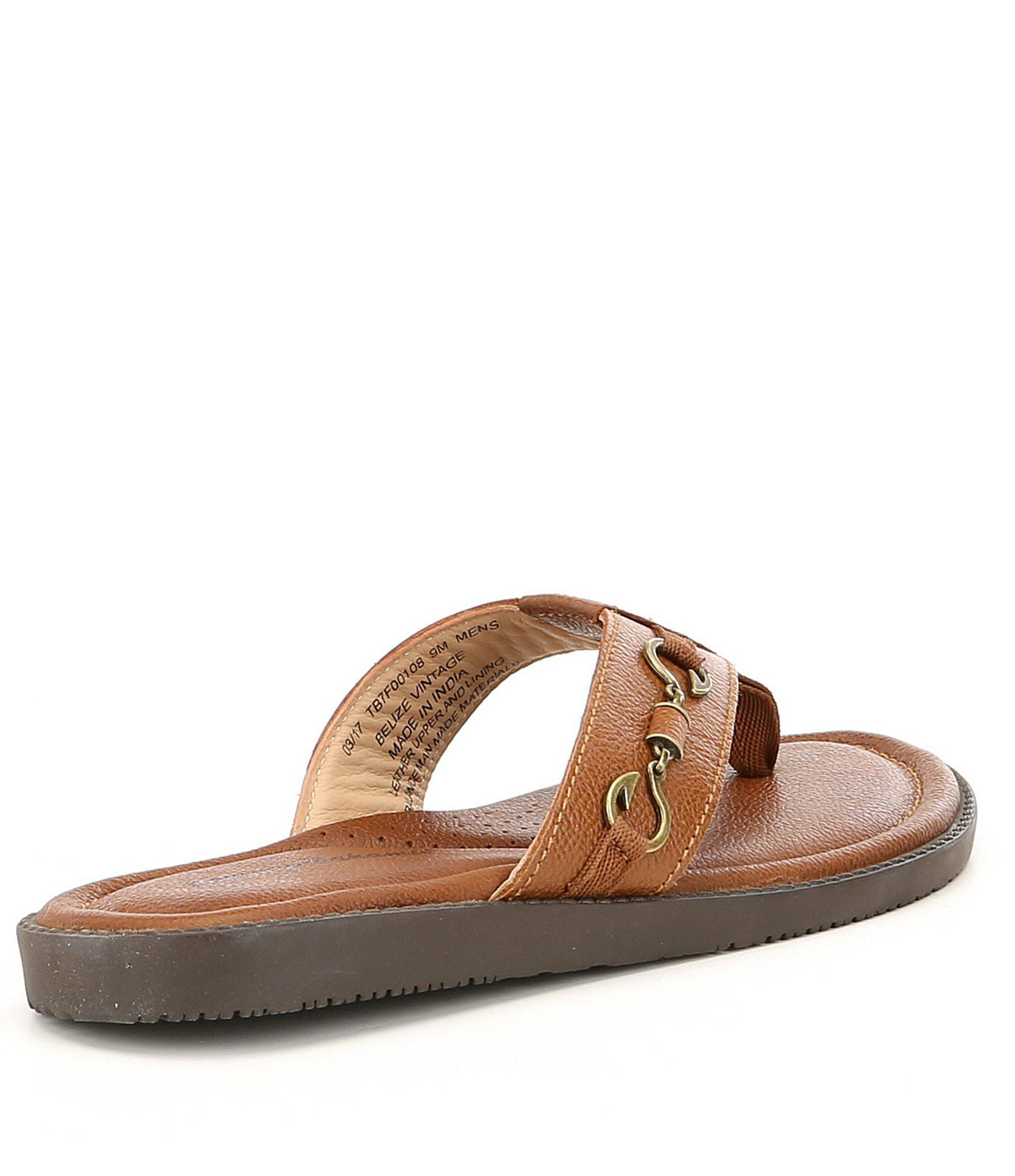 f6c574cca Tommy Bahama - Brown Men ́s Belize Vintage Sandals for Men - Lyst. View  fullscreen