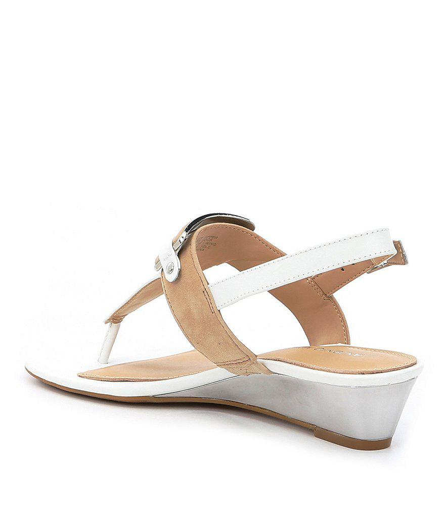 Amabele Thong Wedge Sandals sex4s