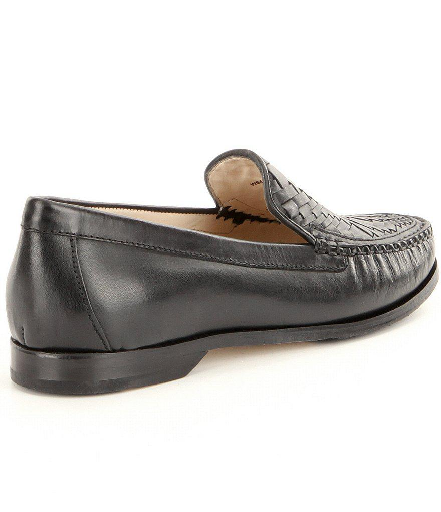 0da7b6f632f Lyst - Cole Haan Women ́s Pinch Genevieve Weave Loafers in Black