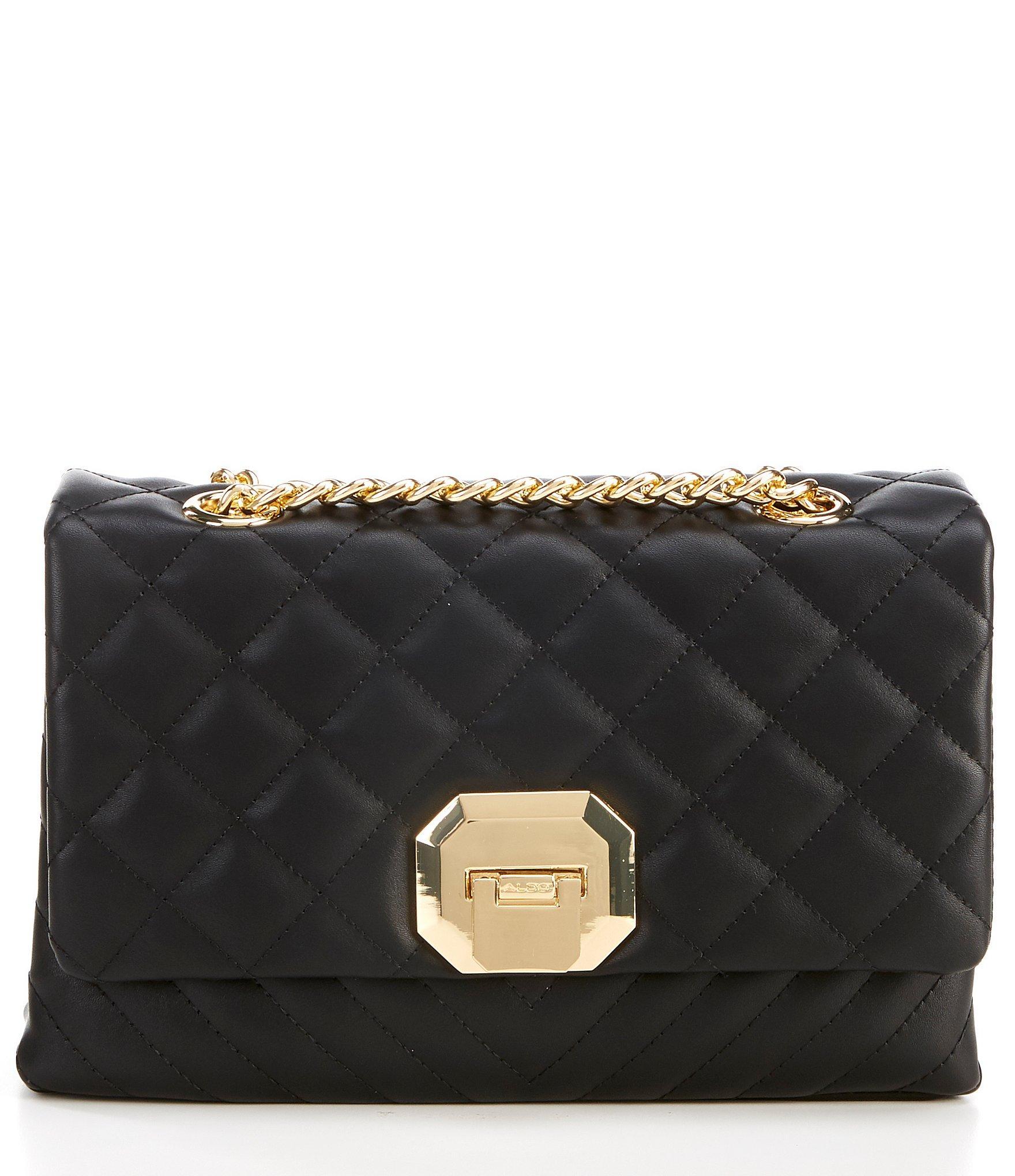 0458097c7e2 Lyst - ALDO Menifee Quilted Shoulder Bag in Black