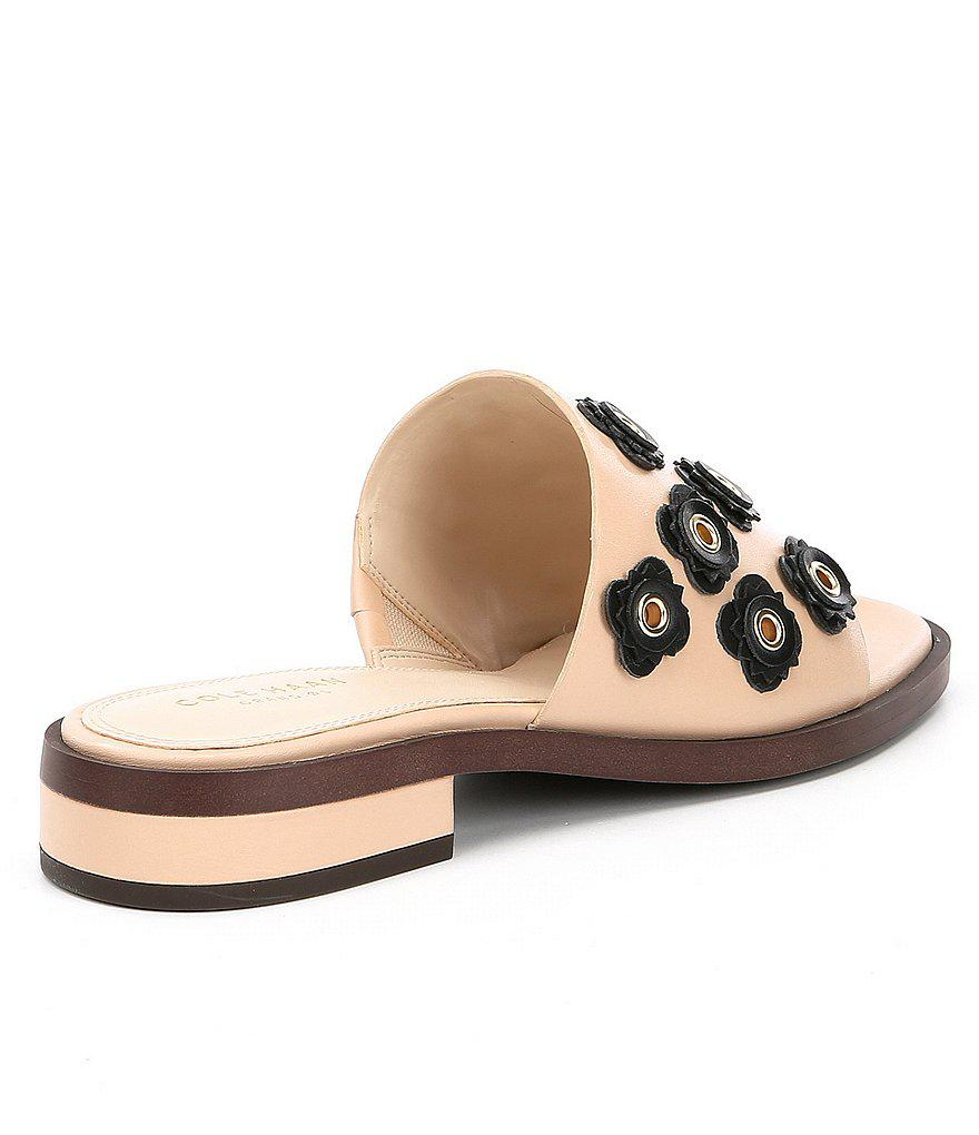 Carly Floral Applique Block Heel Sandals eJxPLMWsm