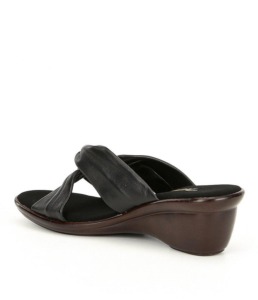 Onex Brie Knotted Wedges GKYNq3CwfU