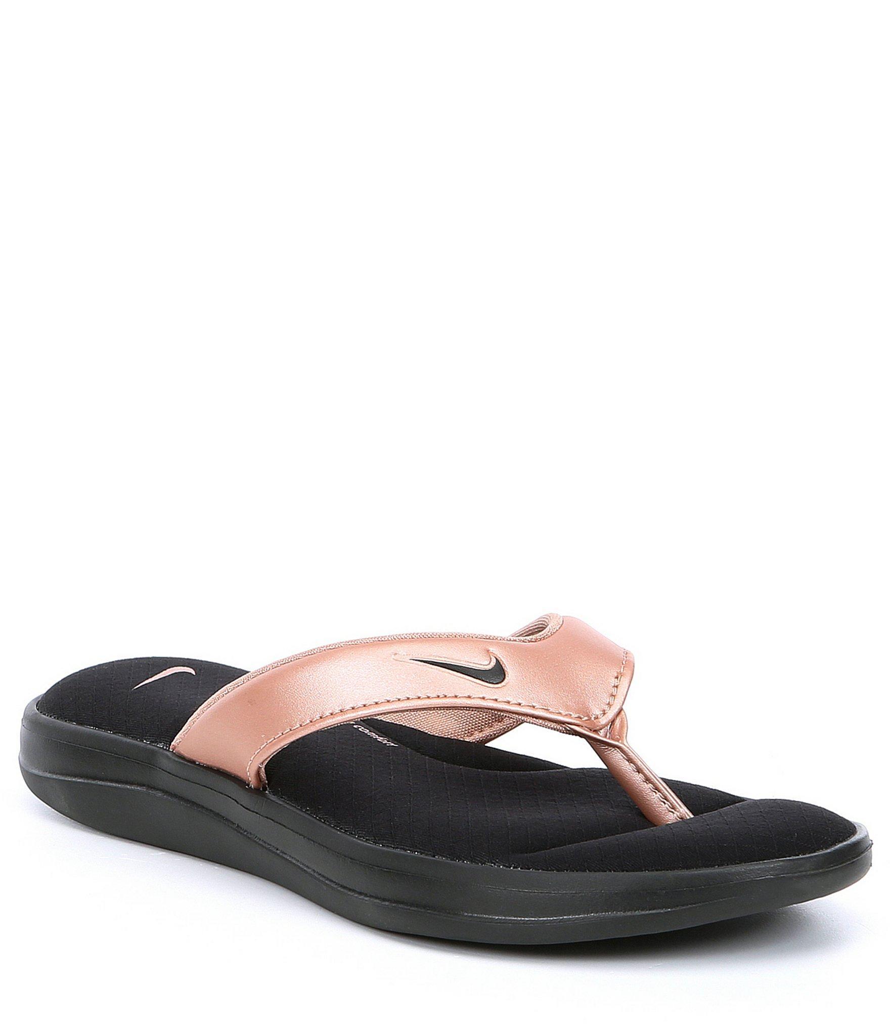 582a5baac3e Lyst - Nike Women s Ultra Comfort 3 Thong in Black