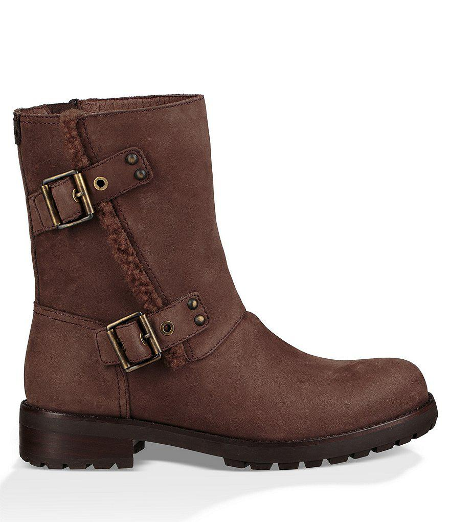 53ad266439f Lyst - UGG ® Niels Moto Boots in Brown for Men