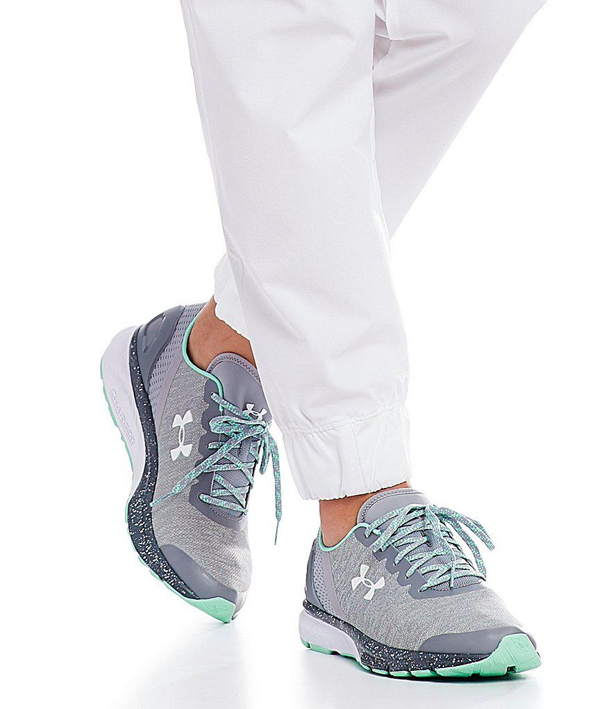 Lyst - Under Armour Women s Charged Escape Sneakers in Gray f81bd191ad