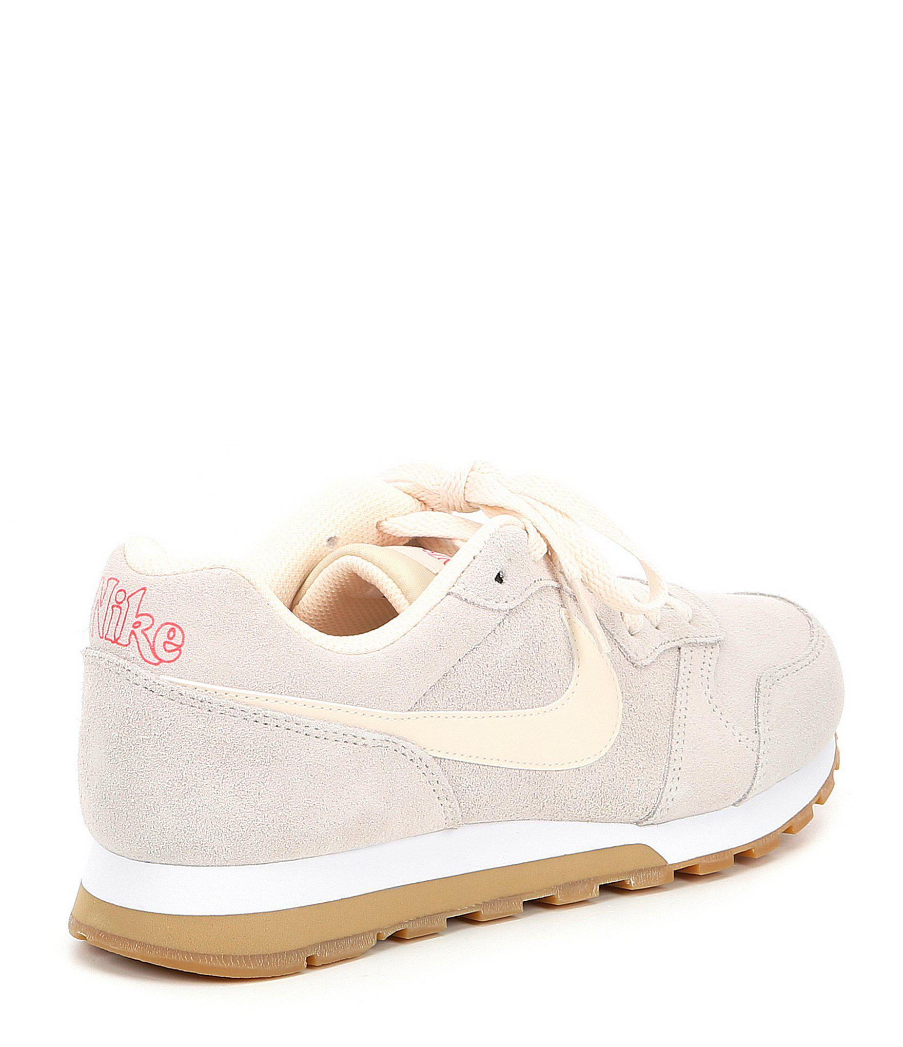 f5e72a1f1a8 Lyst - Nike Women s Md Runner 2 Se Retro Running Shoe in White