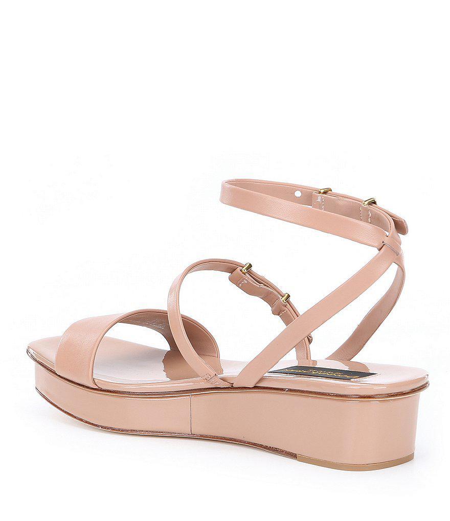 Donna Karan Velda Wedge Sandals I45AOz