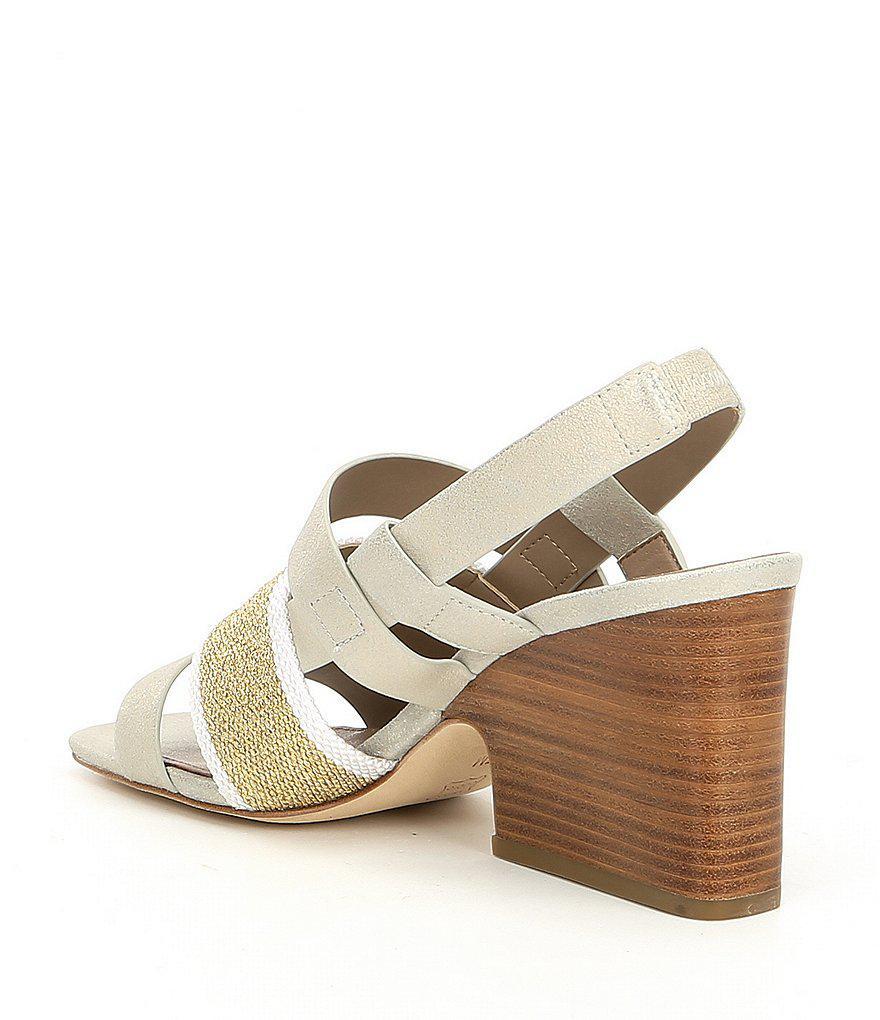 Mae Slingback Block Heel Sandals W6MecTYJx