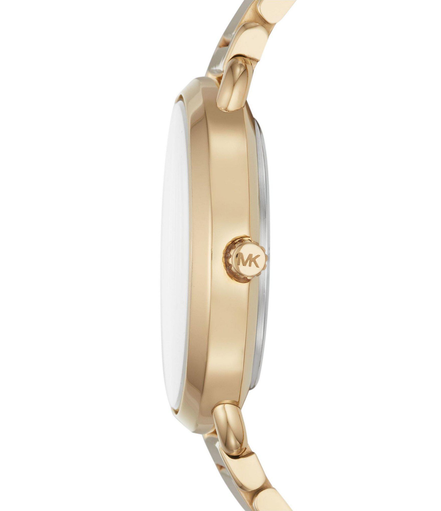 ad127722cc22 Michael Kors - Metallic Ladies  Portia Gold-tone Watch - Lyst. View  fullscreen