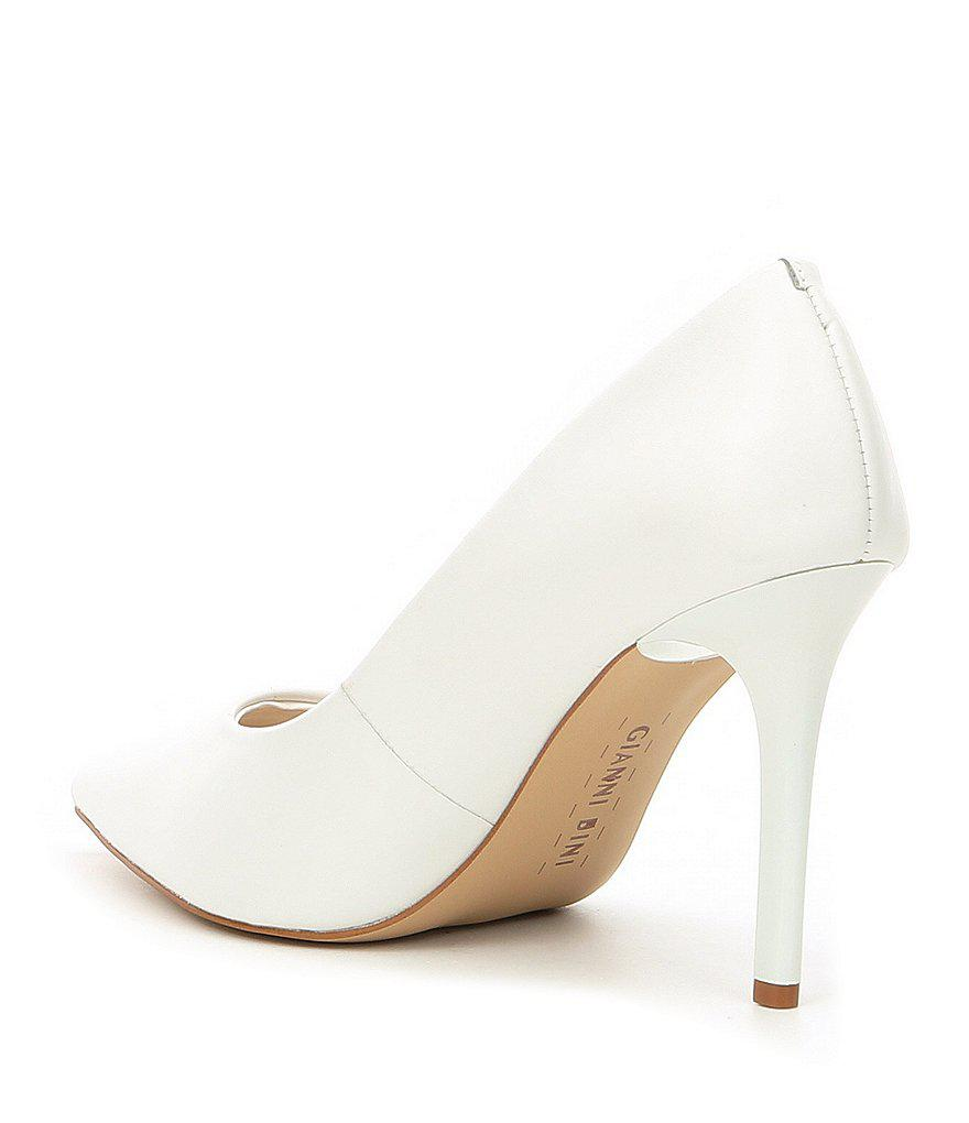 Jilley Sheep Leather Pointed Toe Pumps 4BSY2aGXxO