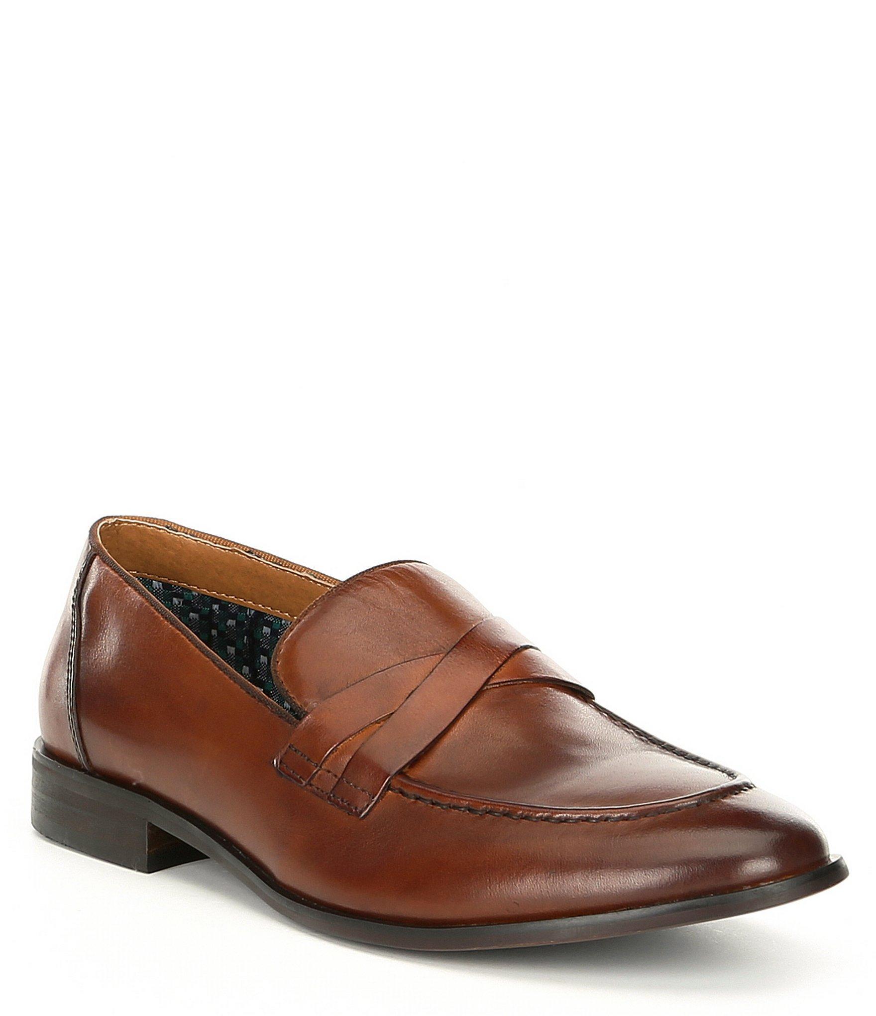 260595e3007 Lyst - Steve Madden Men s Offbeat Leather Slip On in Brown for Men