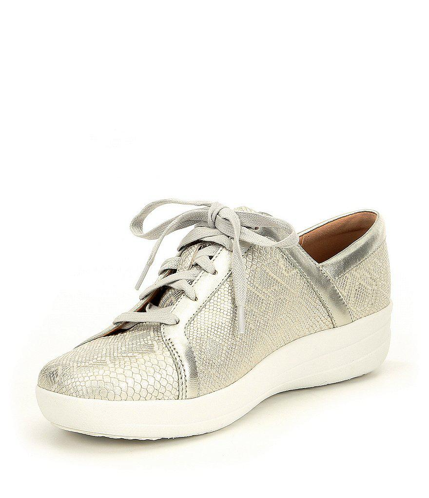 FitFlop F-Sporty II Metallic Python Sneakers