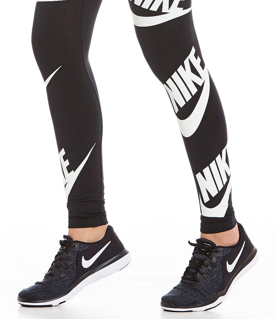 48a5ae853facb Lyst - Nike Women s Flex Supreme Tr 6 Trainer Shoes in Black