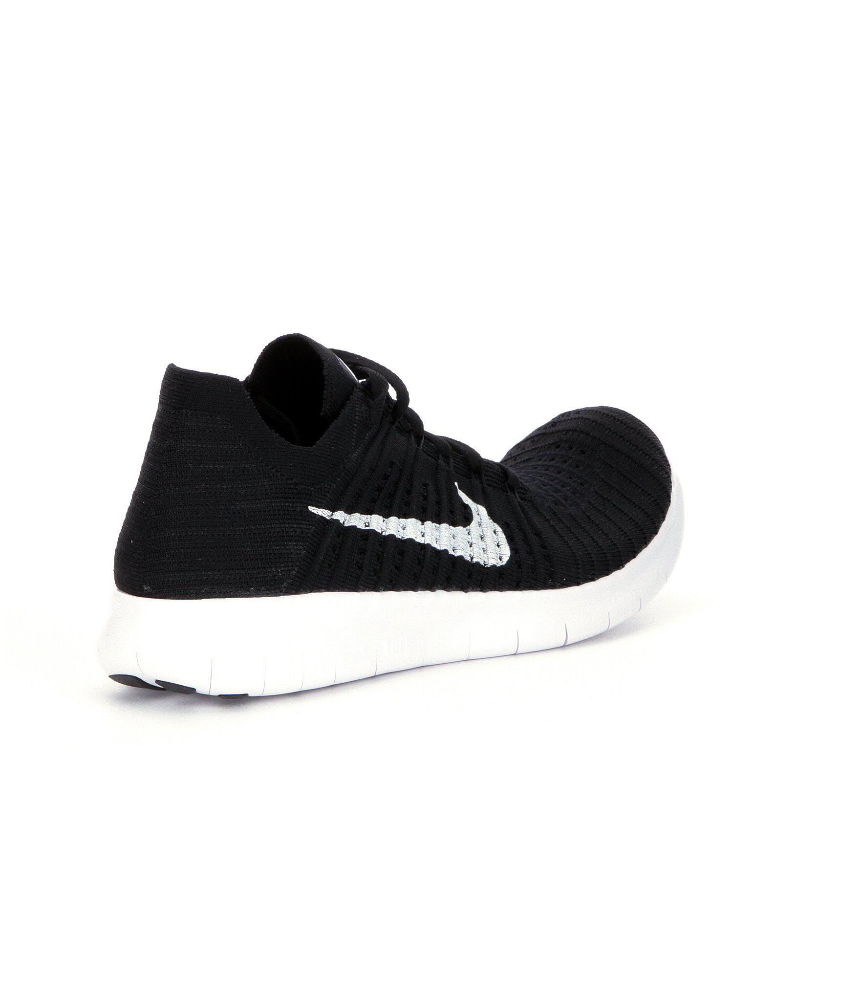 super popular 42ff3 f10b2 Nike - Black Free Rn Flyknit Men ́s Running Shoes for Men - Lyst. View  fullscreen