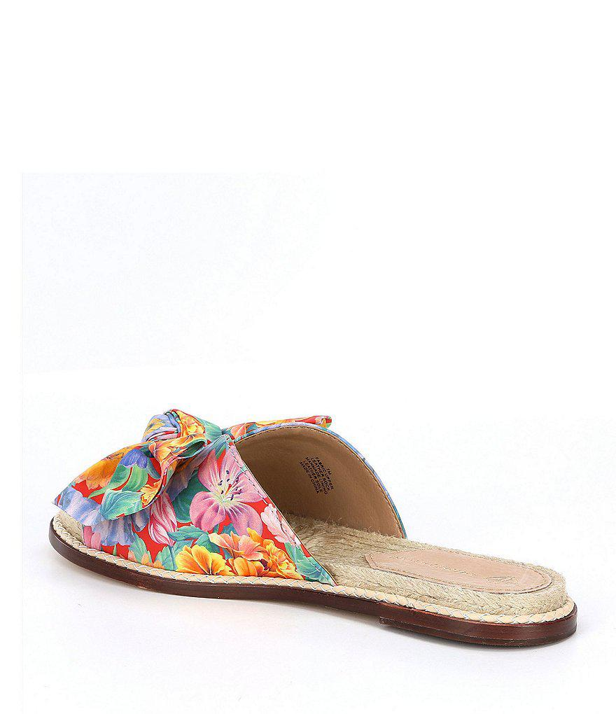 Antonio Melani Drevin Floral Espadrille Slide Sandals Made with Liberty Fabrics P2rWqqk