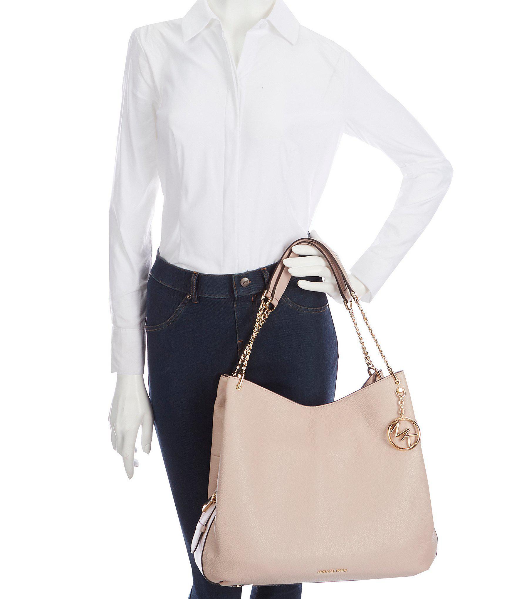 9db7e8d2084d MICHAEL Michael Kors Lillie Large Shoulder Tote Bag - Lyst