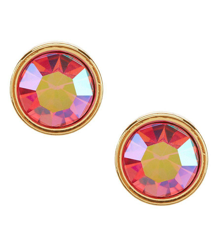 8f27bcb41 Lyst - Kate Spade Forever Gems Small Stud Earrings in Blue