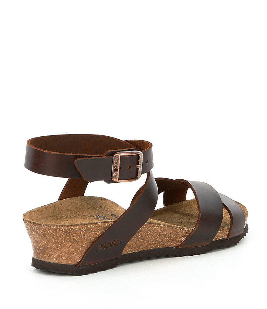 Birkenstock Lola Ankle Wrap Strap Wedge Sandals 6nIh8b