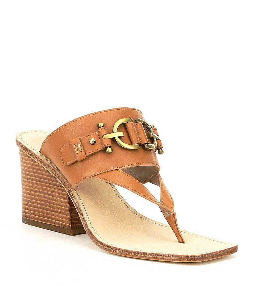Donald J Pliner Fawn Thong Sandals best wholesale OkWborHcdX