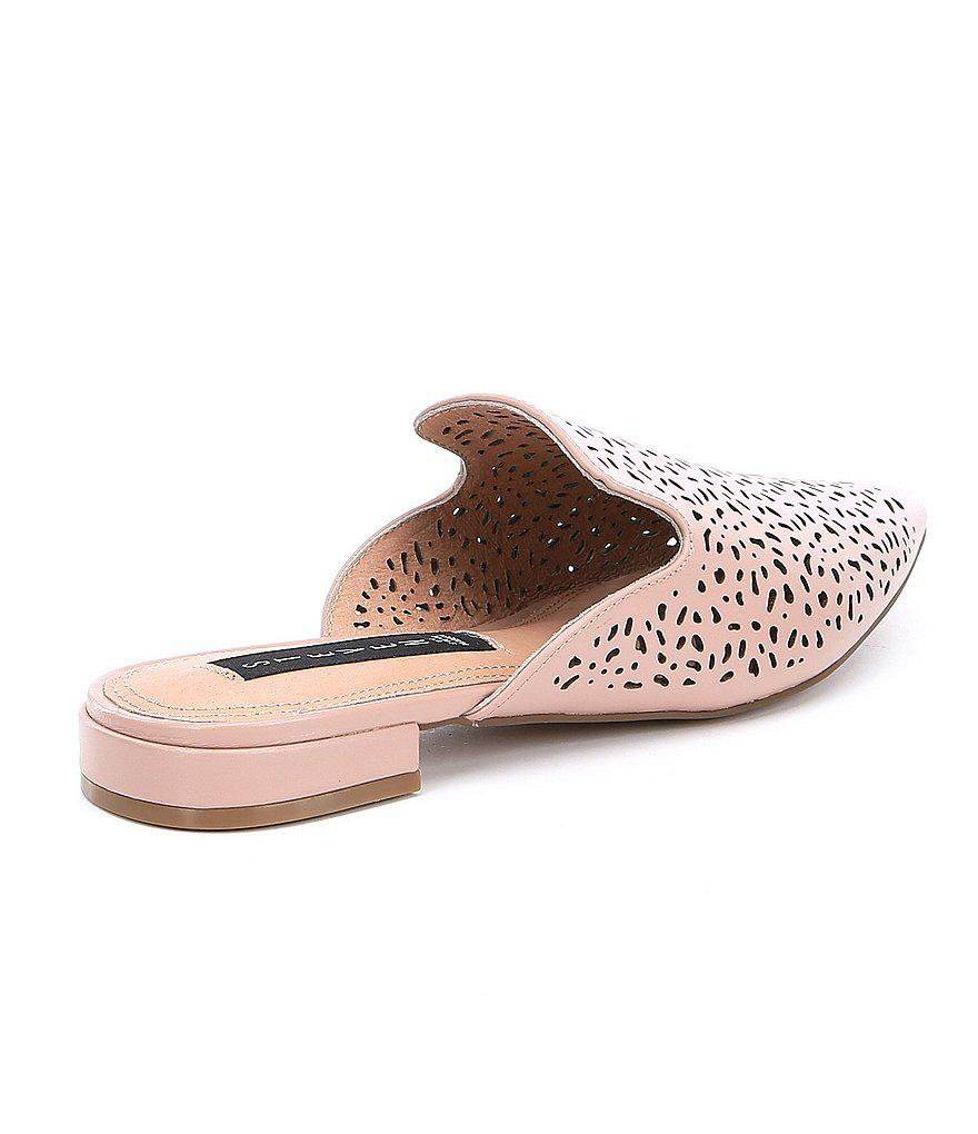 Steven by Steve Madden Valent Cutout Leather Mules e0ctHGF