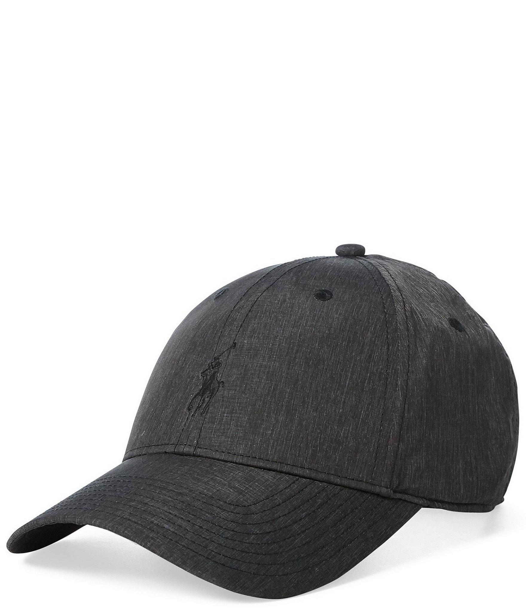 Lyst - Polo Ralph Lauren Canvas Baseline Cap in Gray for Men 7c4aab14b99c