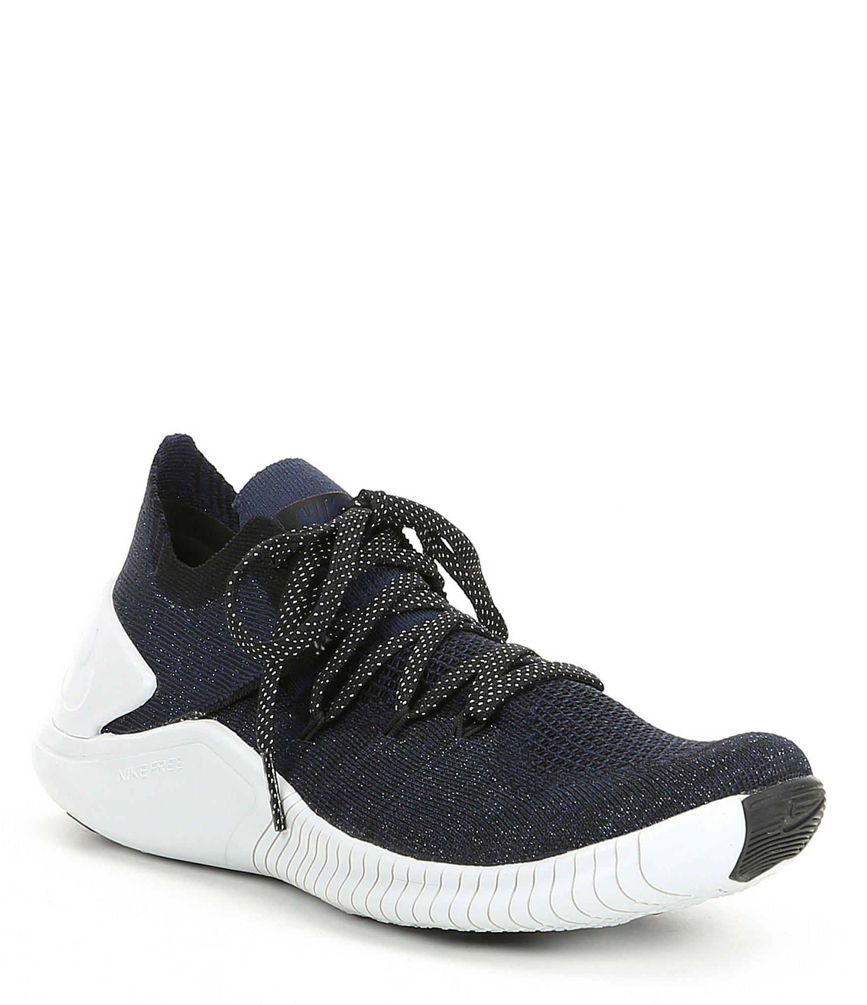 d5e2e22e5a82 Lyst - Nike Women s Free Tr 3 Flyknit Training Shoe in Black
