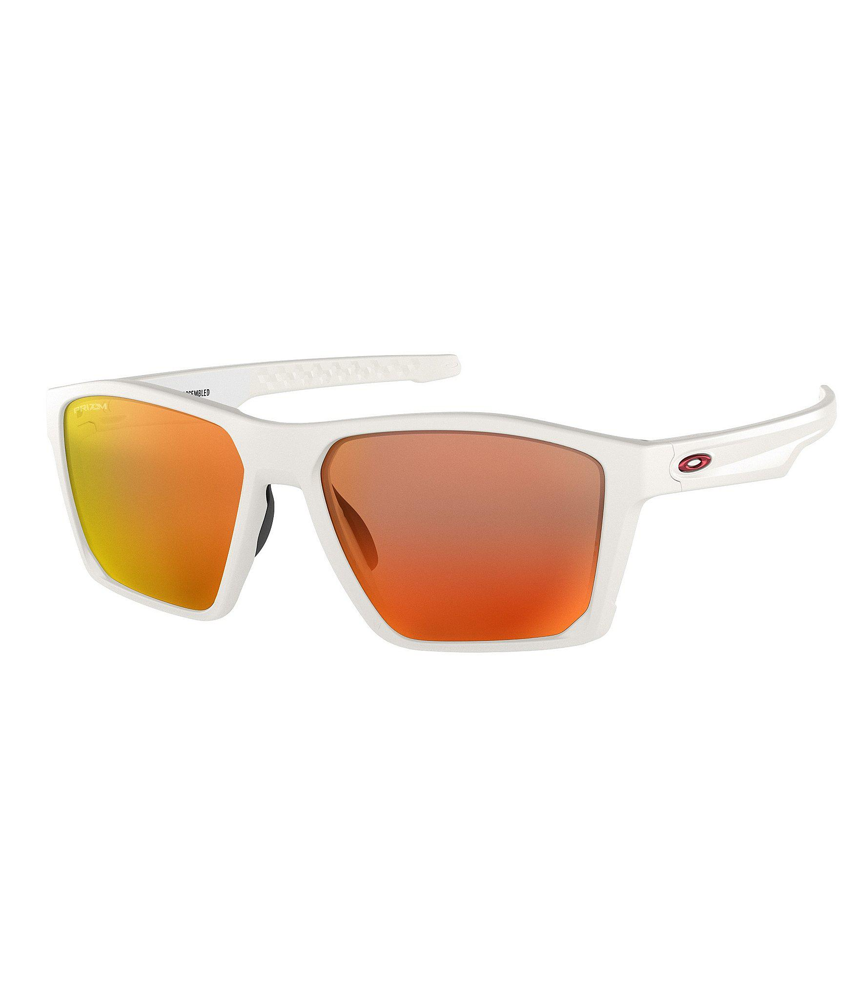 Lyst - Oakley Mens Target Line Orange Lens Sunglasses in White for Men