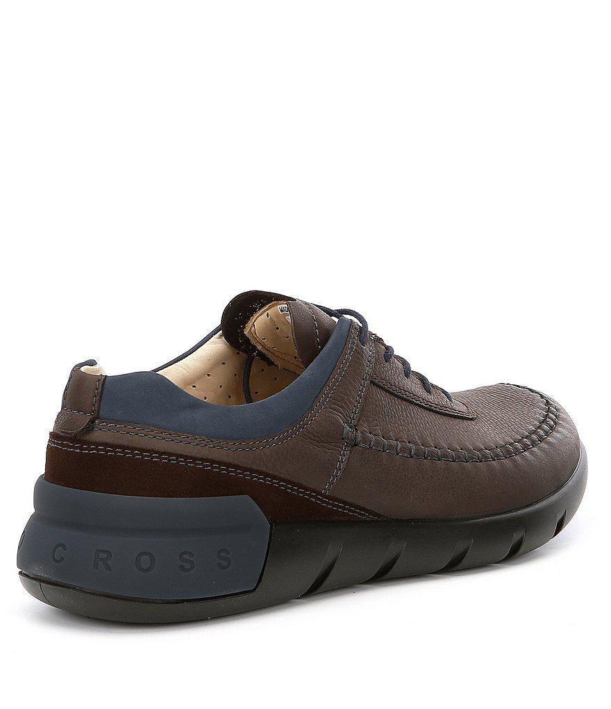 93f61620aa Lyst - Ecco Men S Cross X Classic Tie Sneakers in Brown for Men