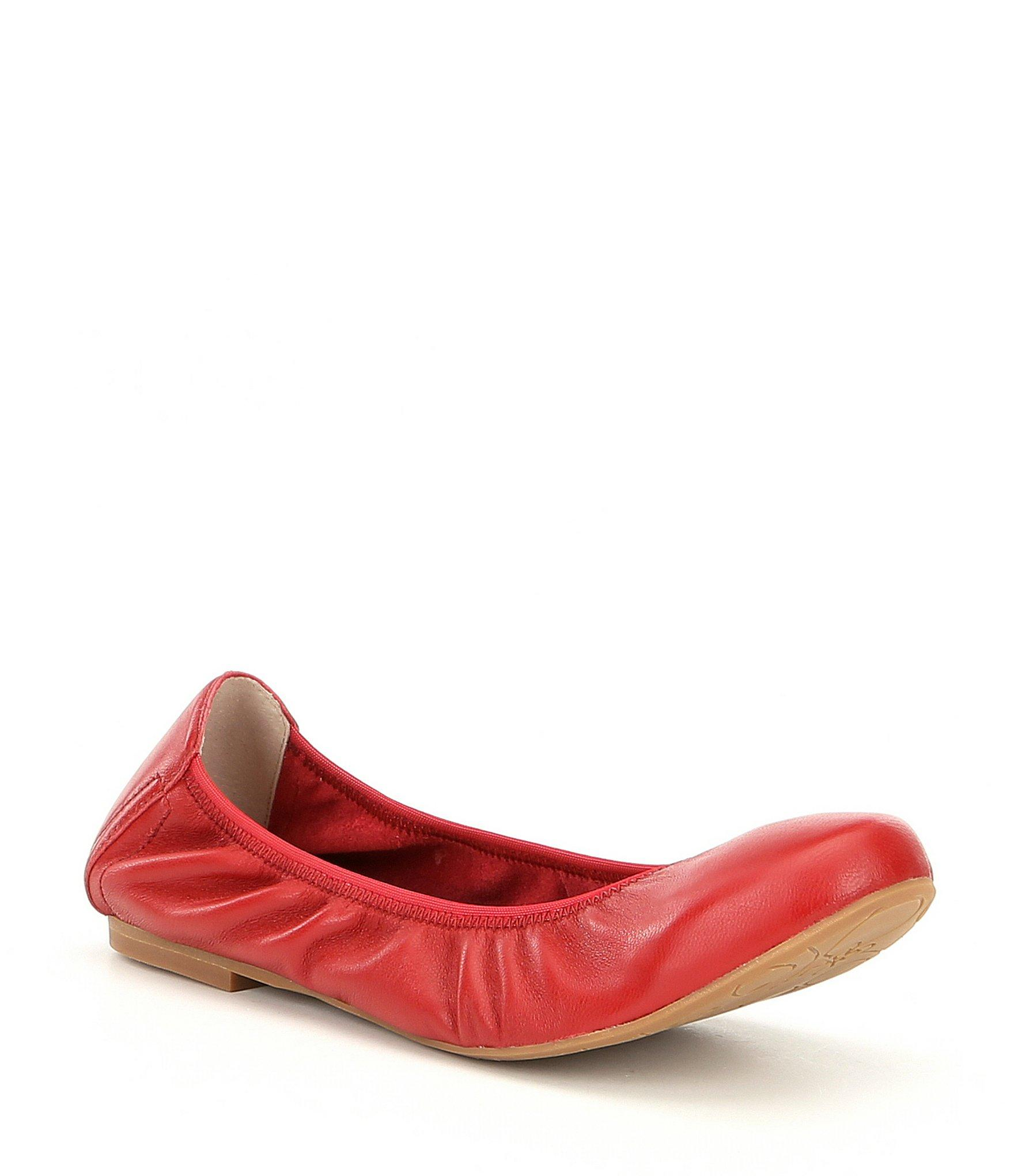 83bc797a5 Blondo Waterproof Becca Ballet Flats in Red - Lyst