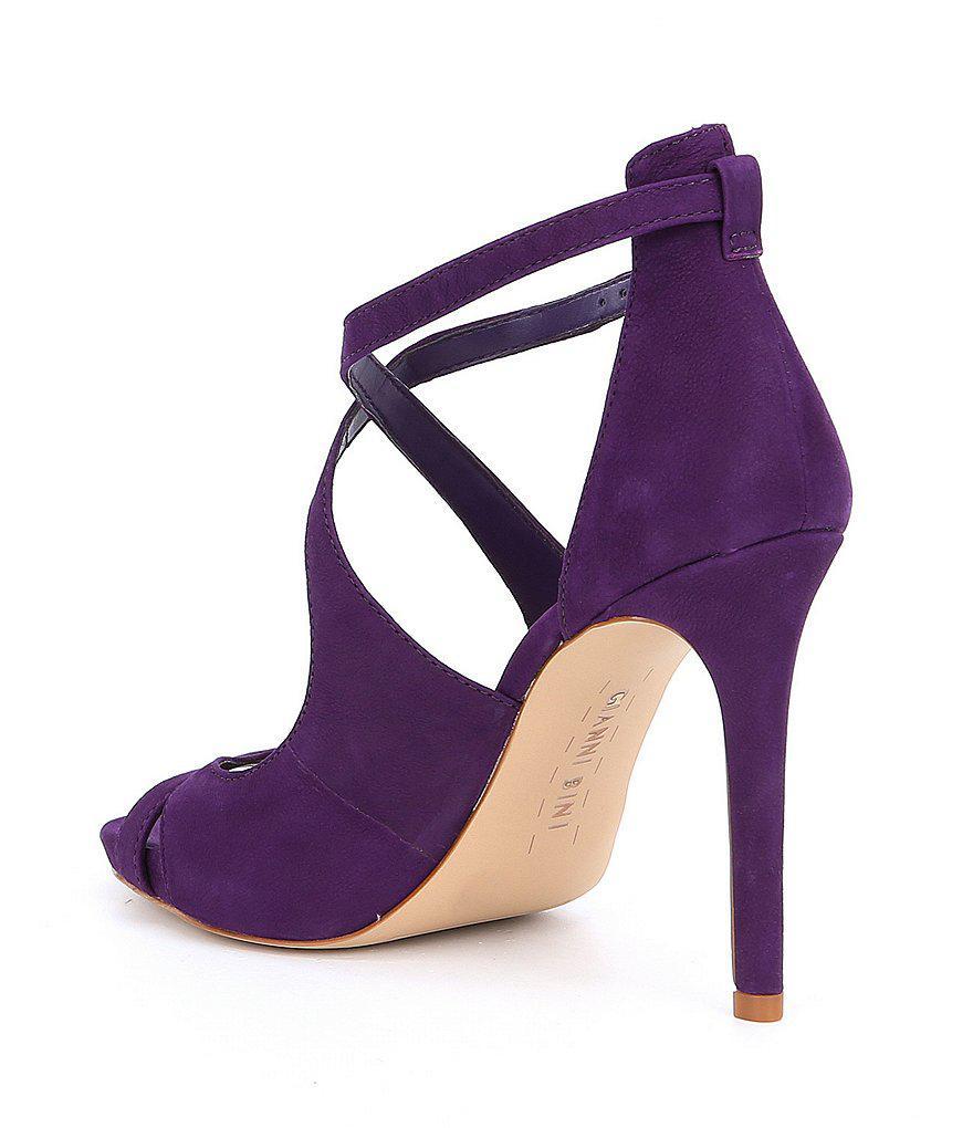 Gianni Bini Laydie Tumbled Buff Goat Leather Ankle Strap Dress Sandals sBJOHUMAYJ