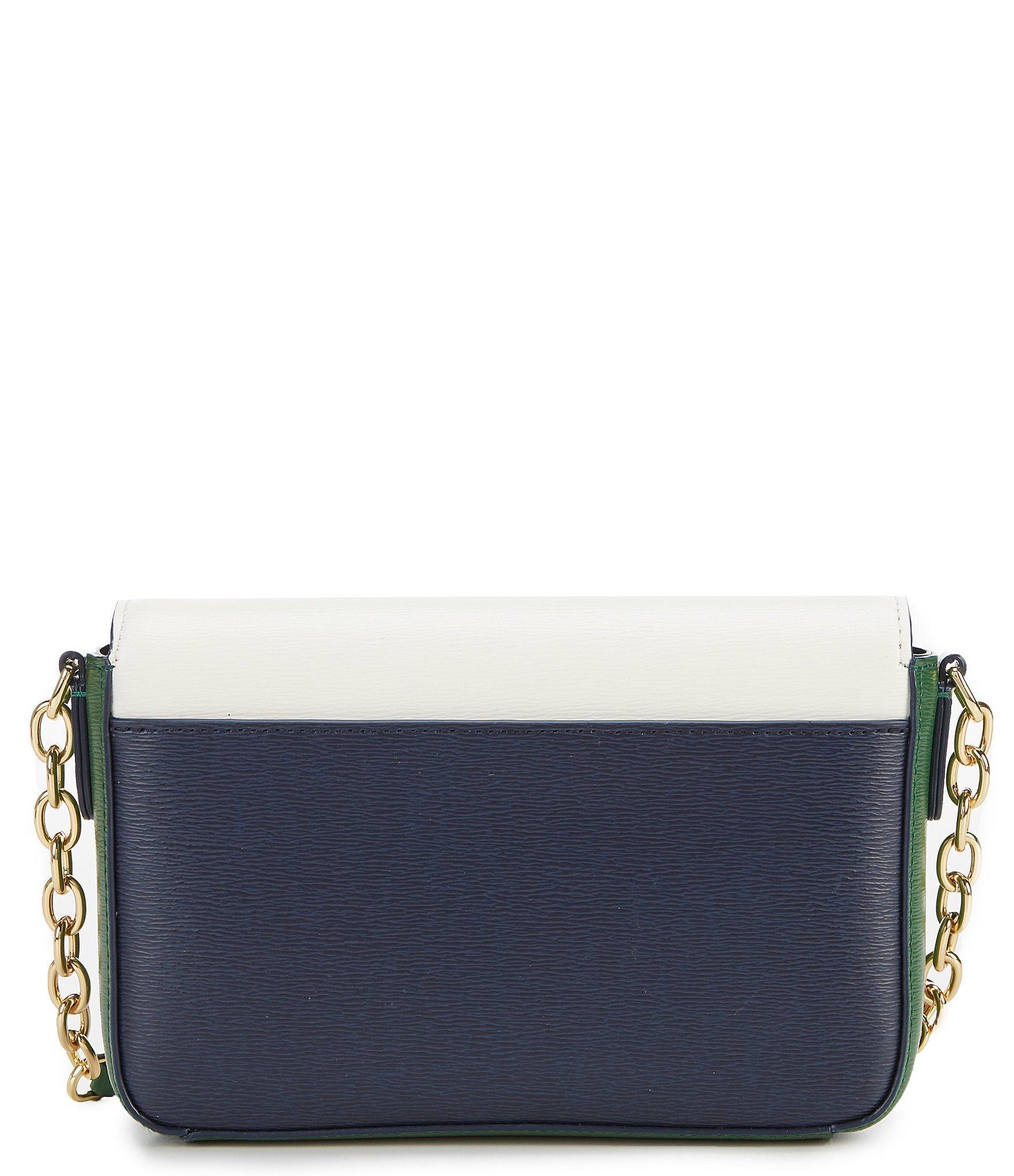 Lauren by Ralph Lauren - Multicolor Medium Colorblock Flap Cross-body Bag -  Lyst. View fullscreen 9c5921c57e