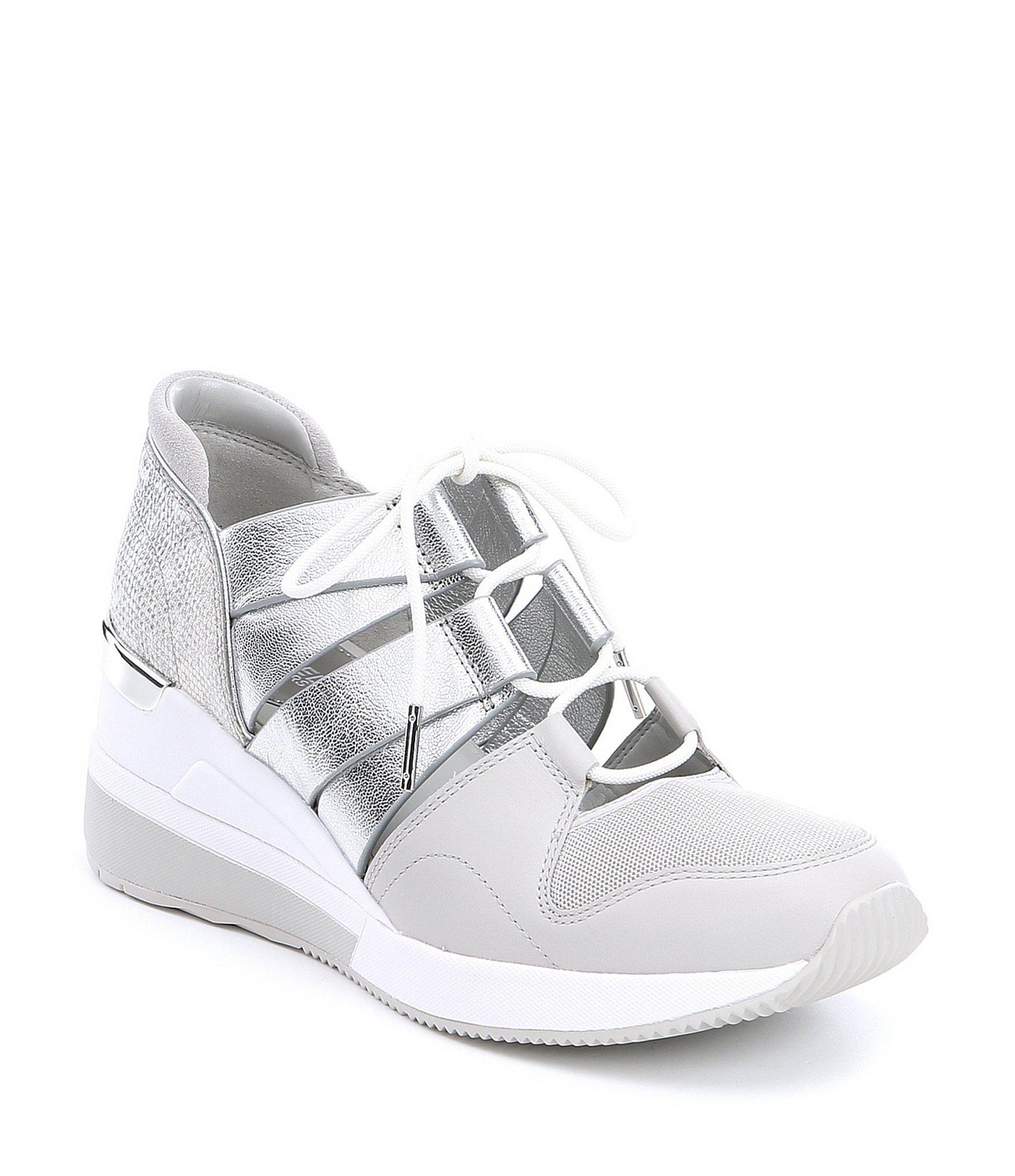 Lyst - MICHAEL Michael Kors Beckett Trainer Sneakers in Metallic 2d07a7b6f