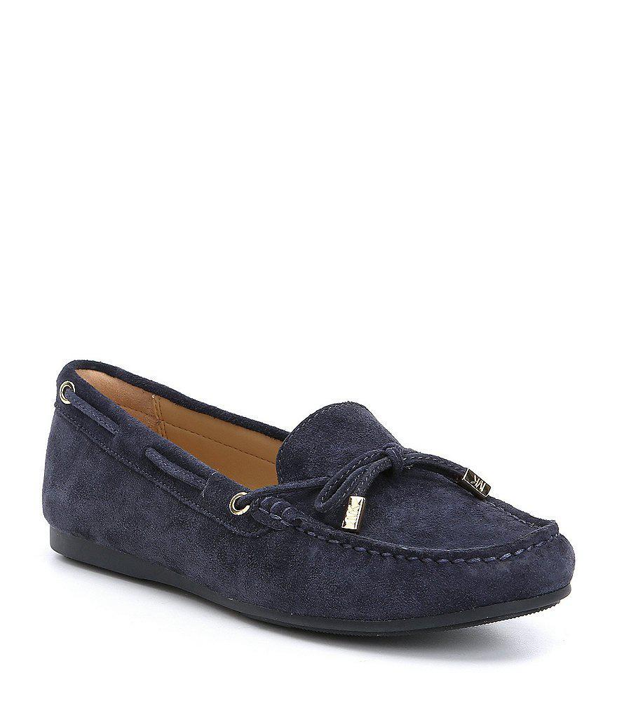 MICHAEL Michael Kors Sutton Moccasin Suede Bow Detail Loafers wl0qUPbUtF