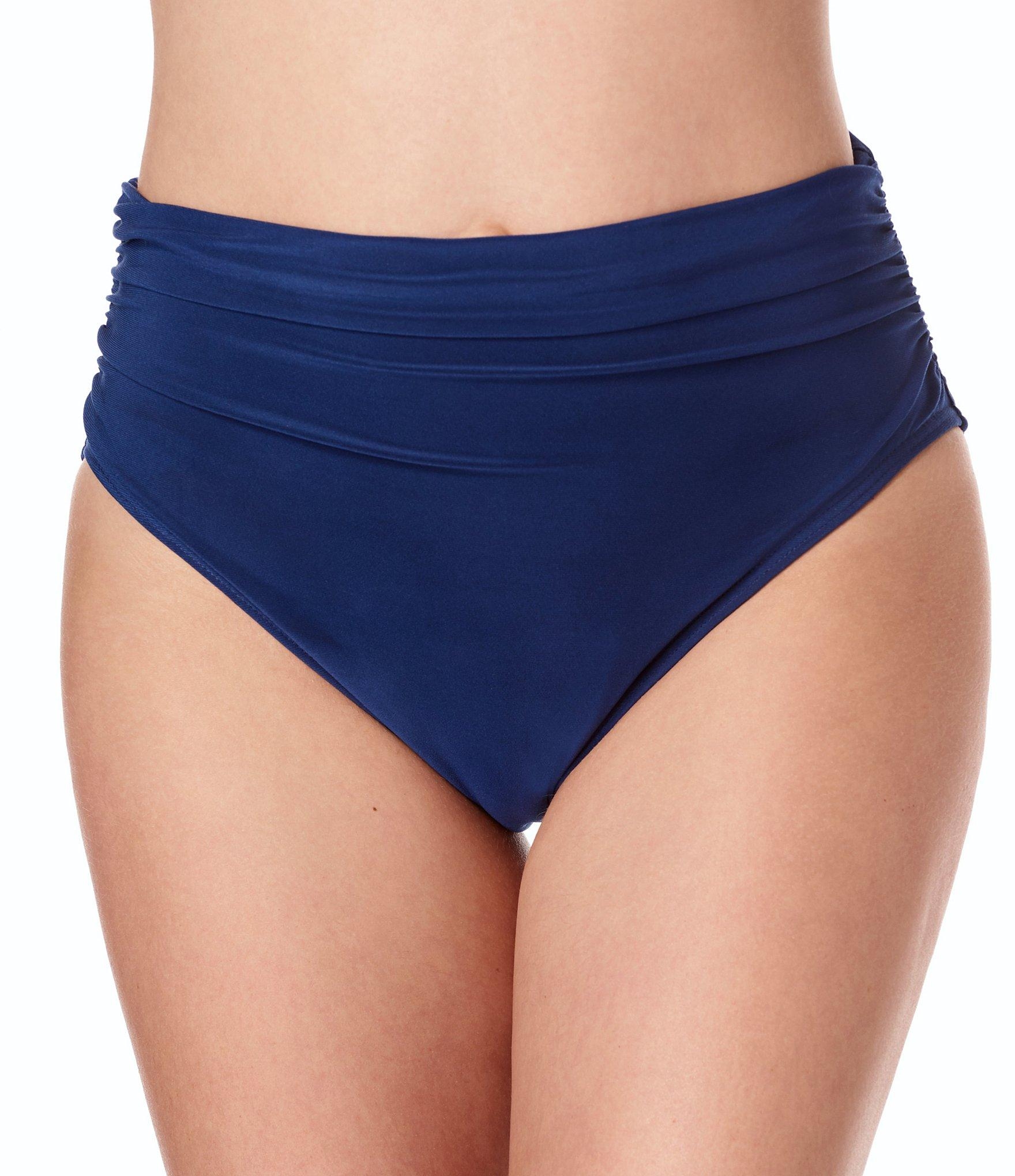 82398bc778840 ... Solid Jersey Brief Shirred Swimsuit Bottom - Lyst. View fullscreen