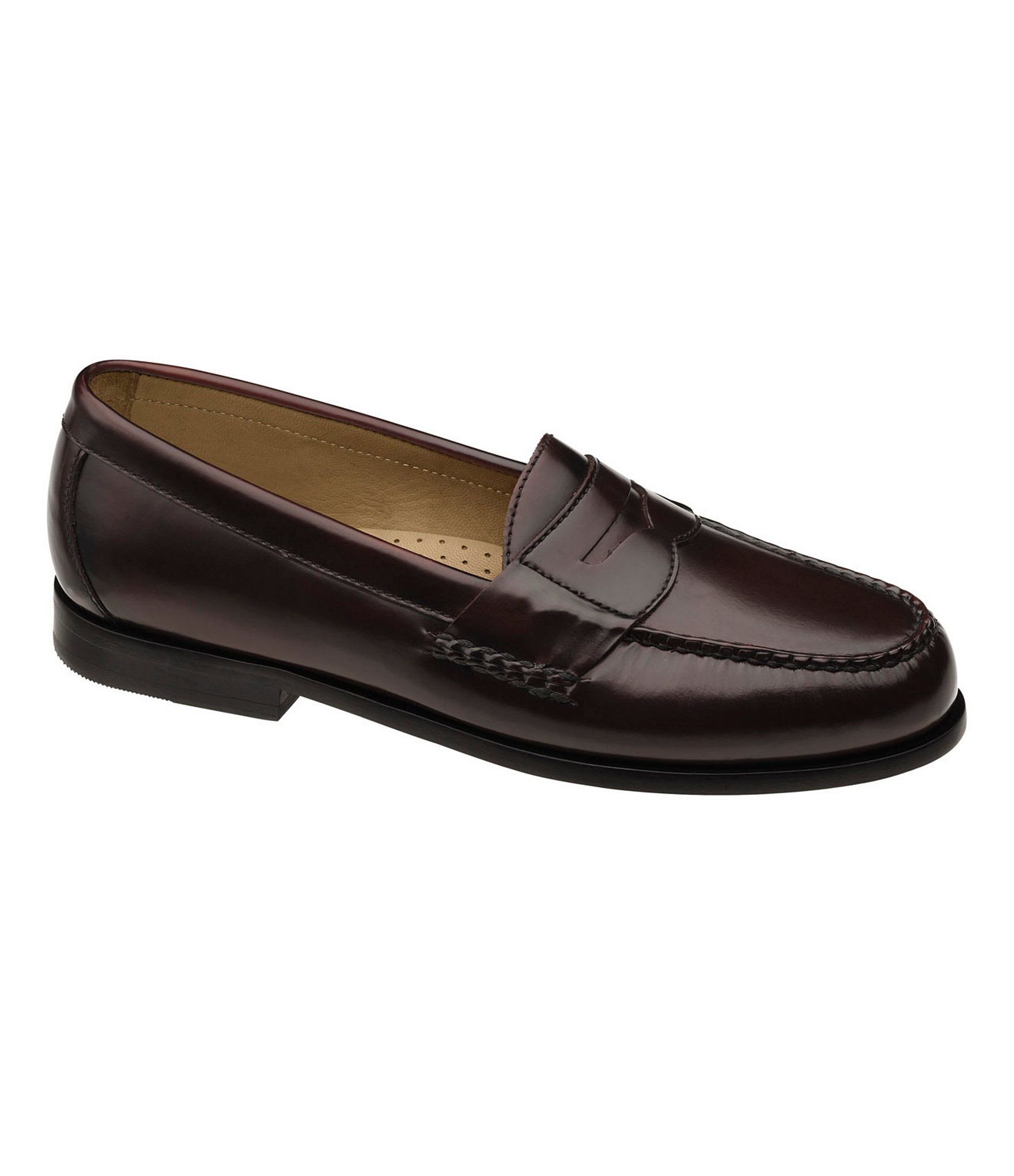 Johnston Murphy Hayes Dress Penny Loafers In Brown For