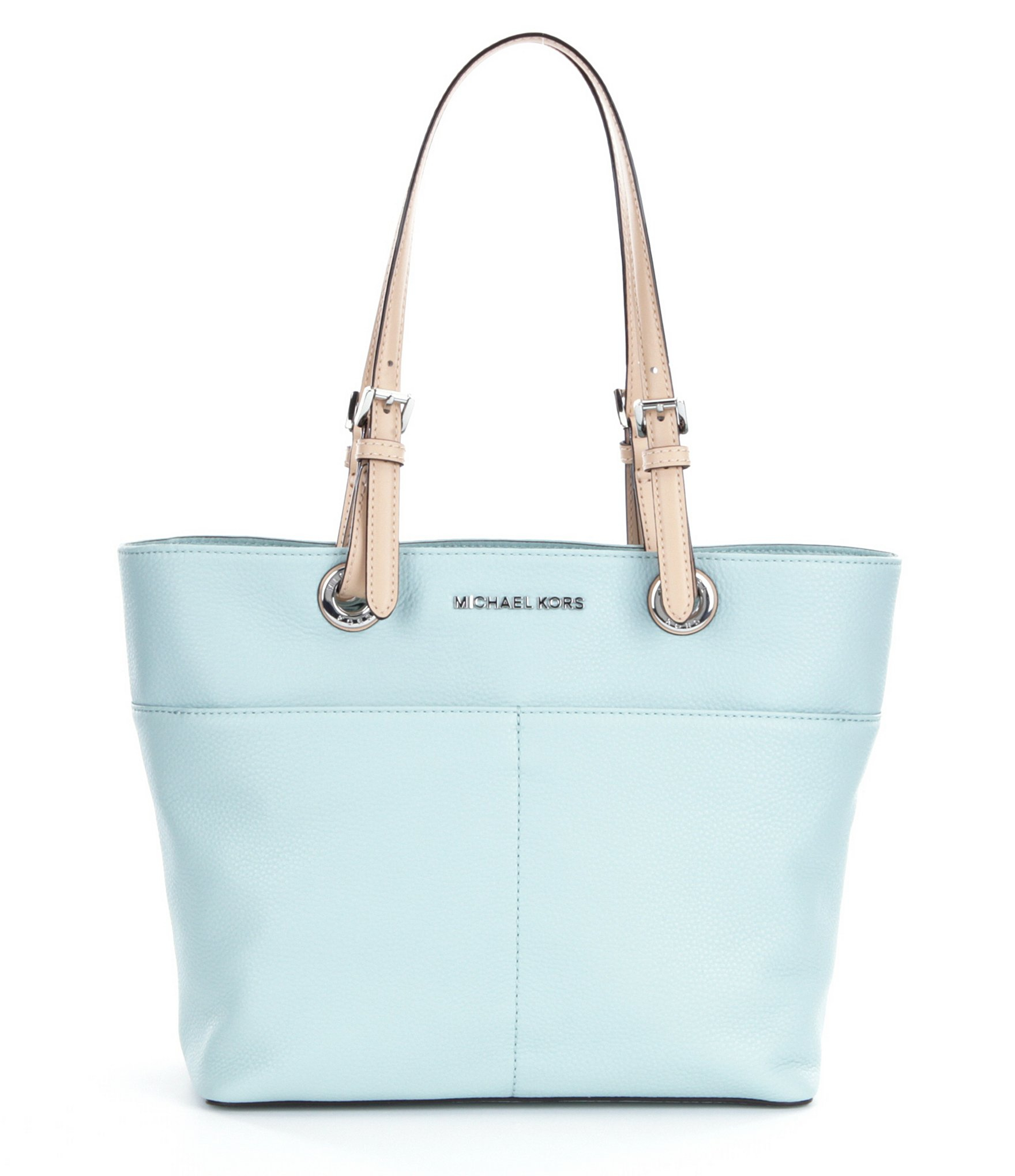 661a249ab9b4 MICHAEL Michael Kors Bedford Pocket Tote in Blue - Lyst