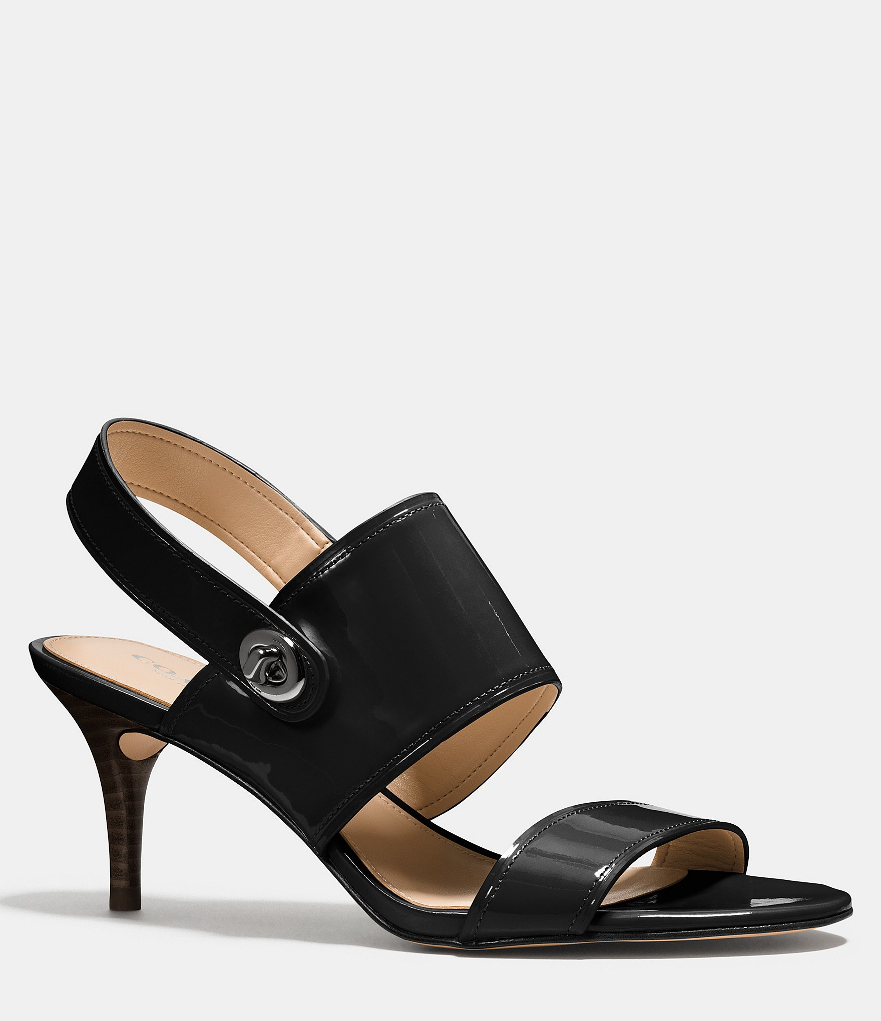 Coach Marla Heel in Black | Lyst