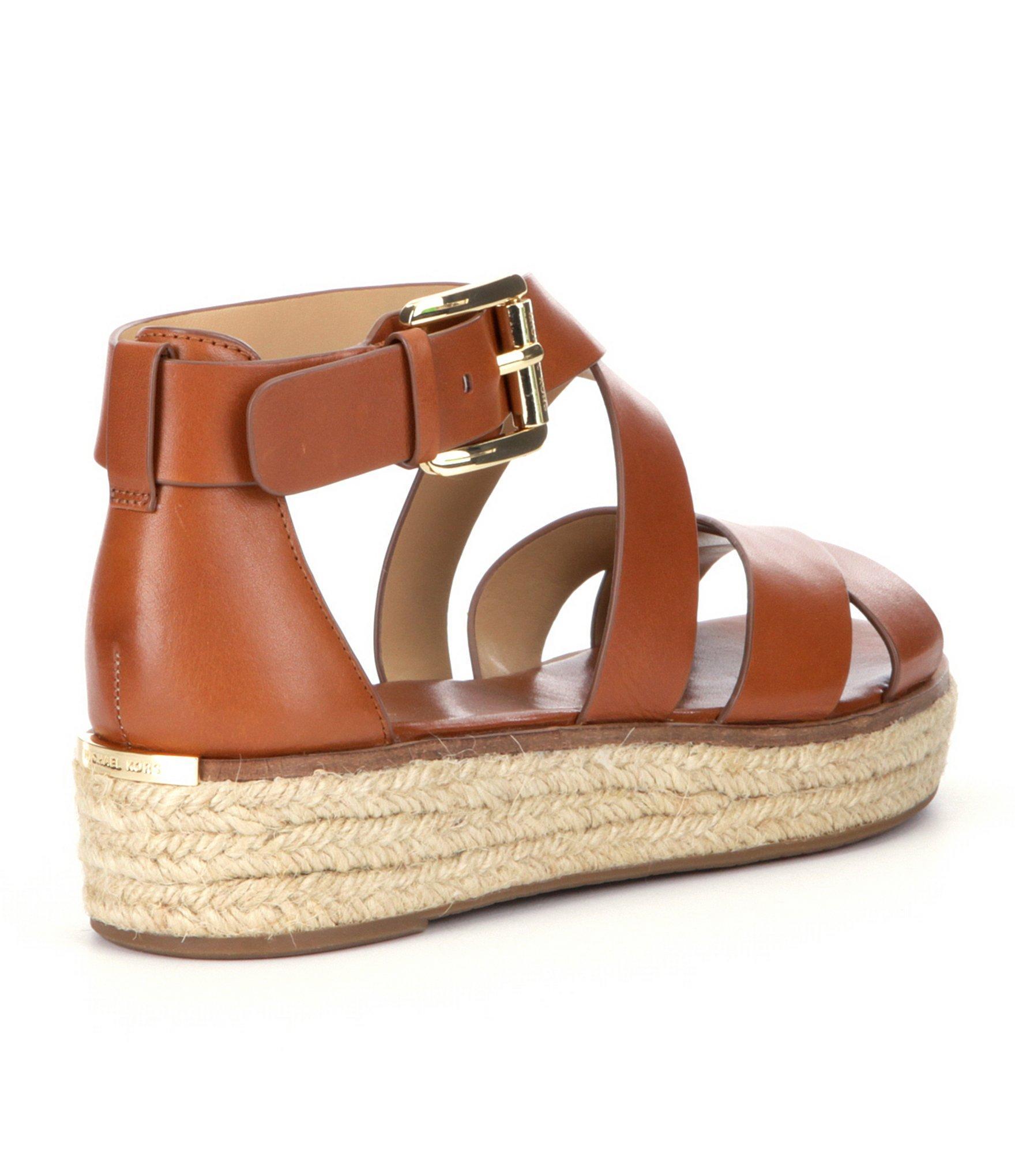 Michael Kors - Portia Flex mirror leather sandals