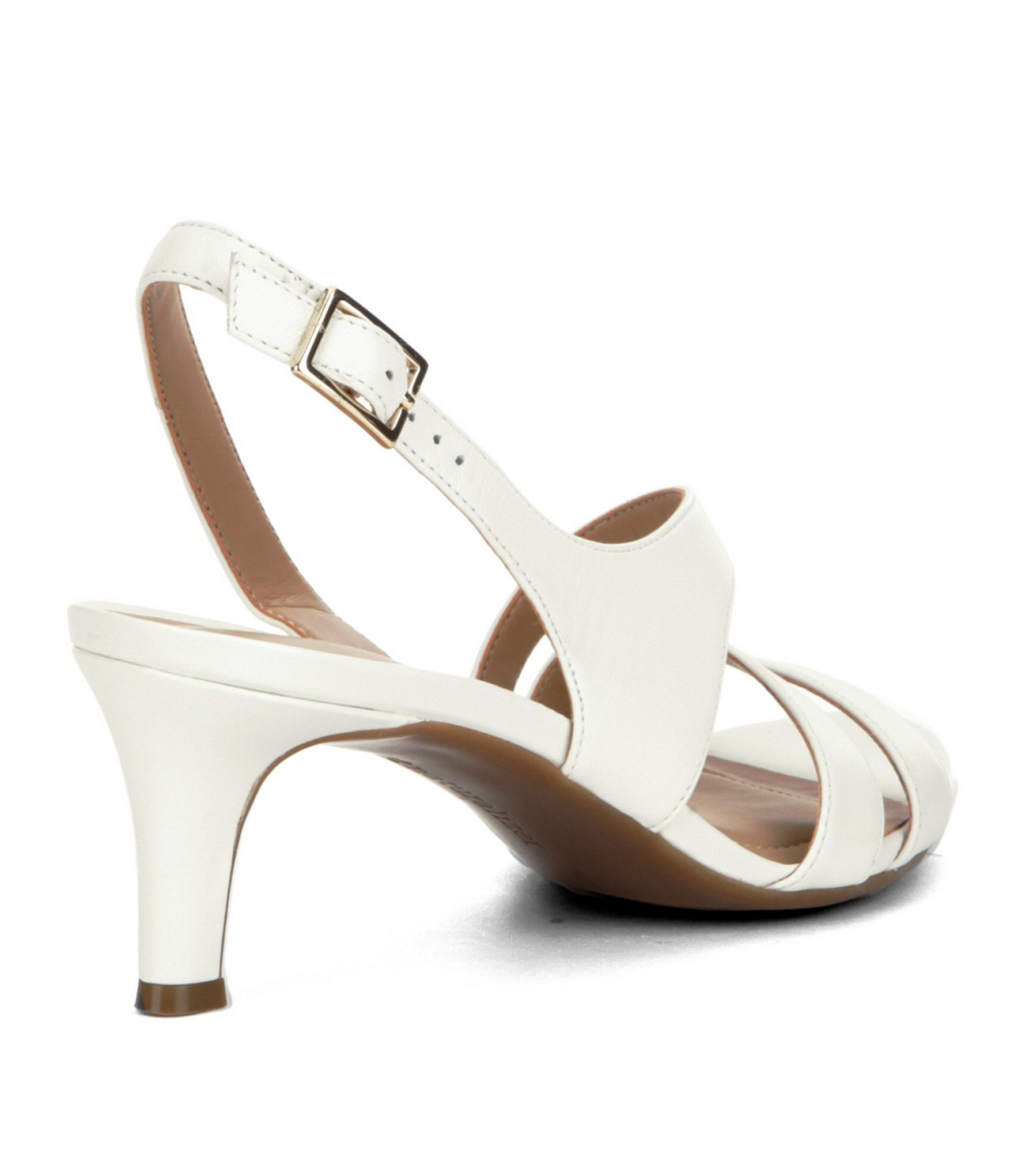 Lyst Naturalizer Taimi Dress Sandals In White