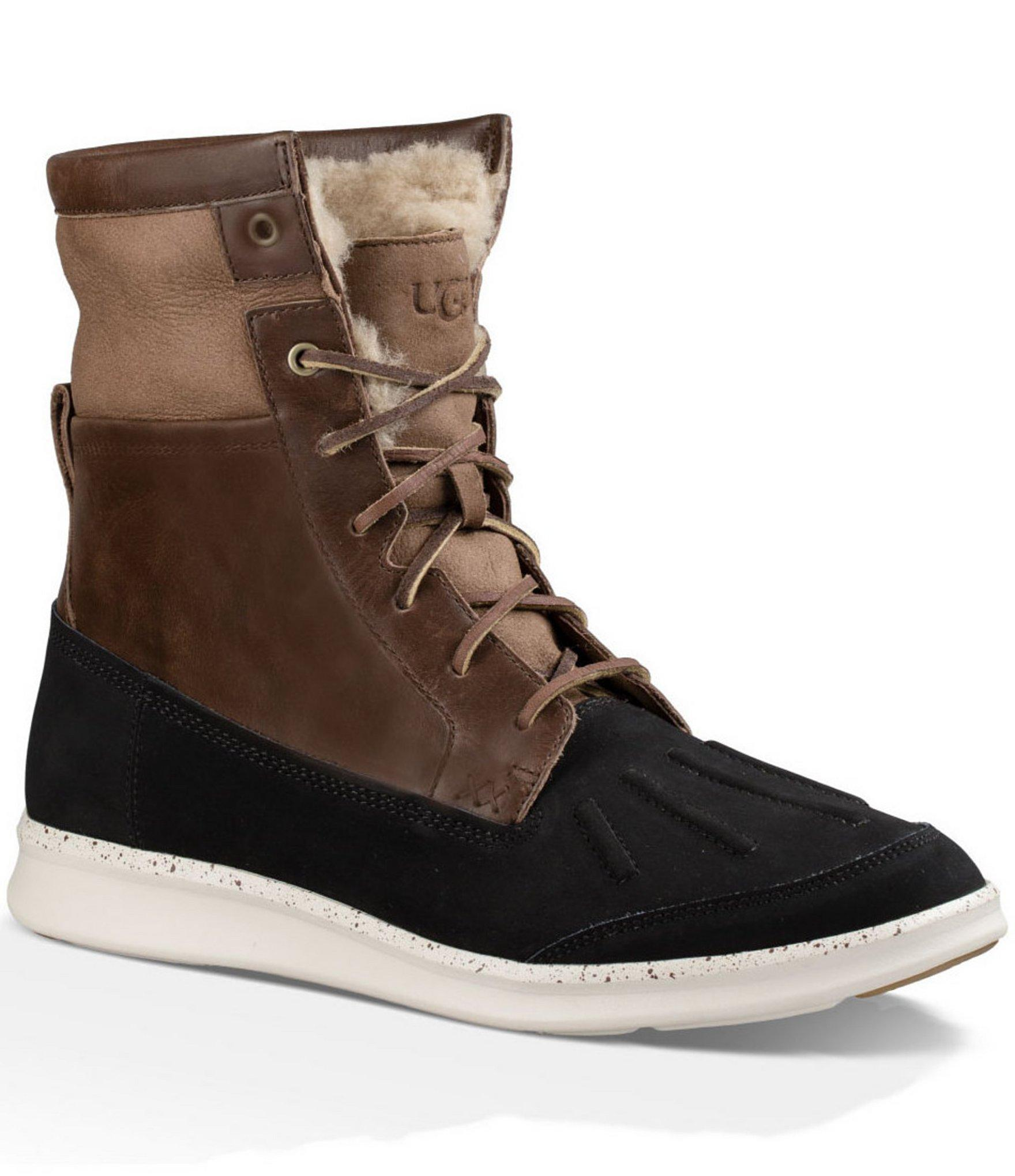 Ugg Mens Roskoe Cold weather Waterproof Boots For Men