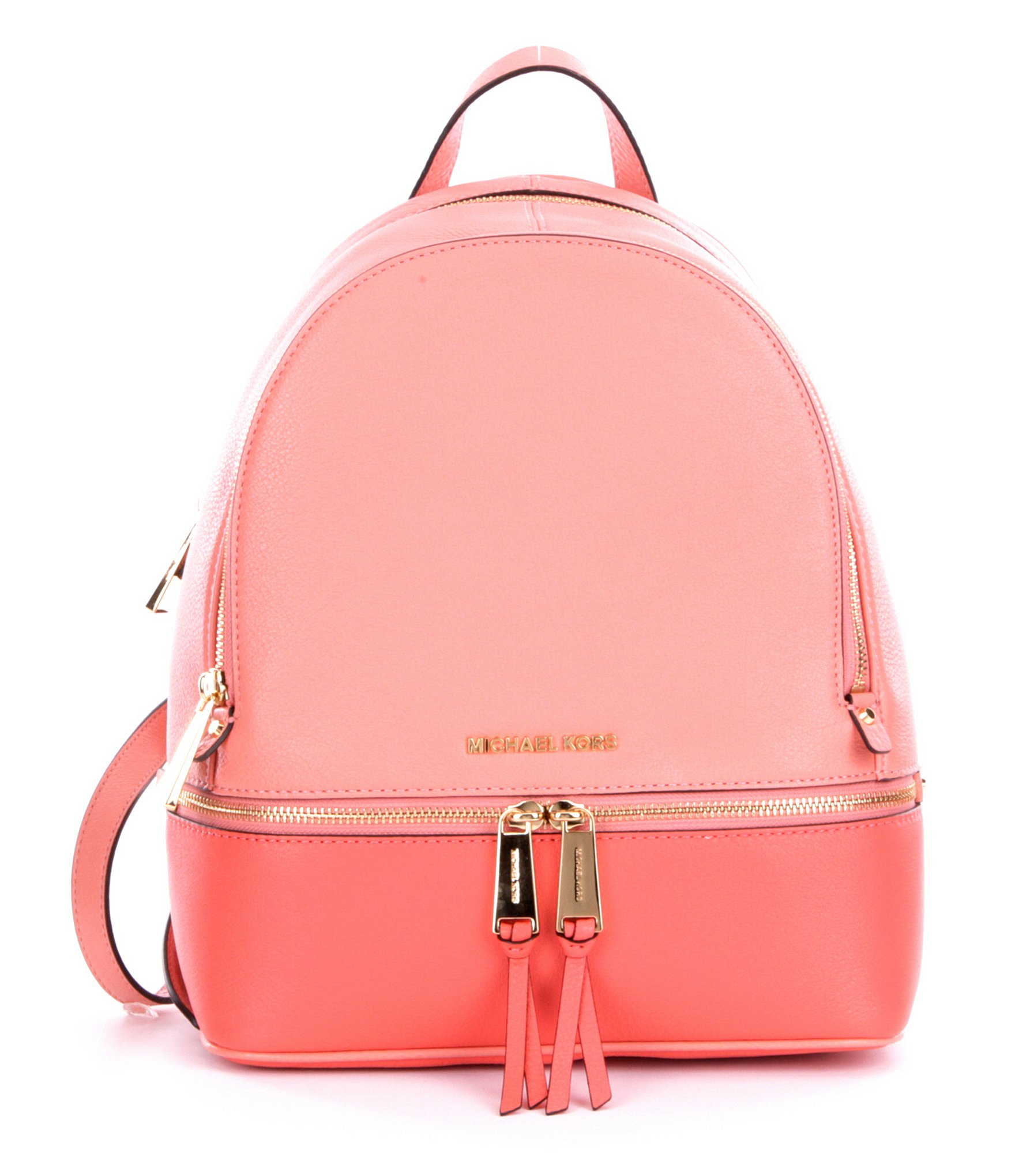 Michael michael kors Rhea Color Block Zip Medium Backpack in ...