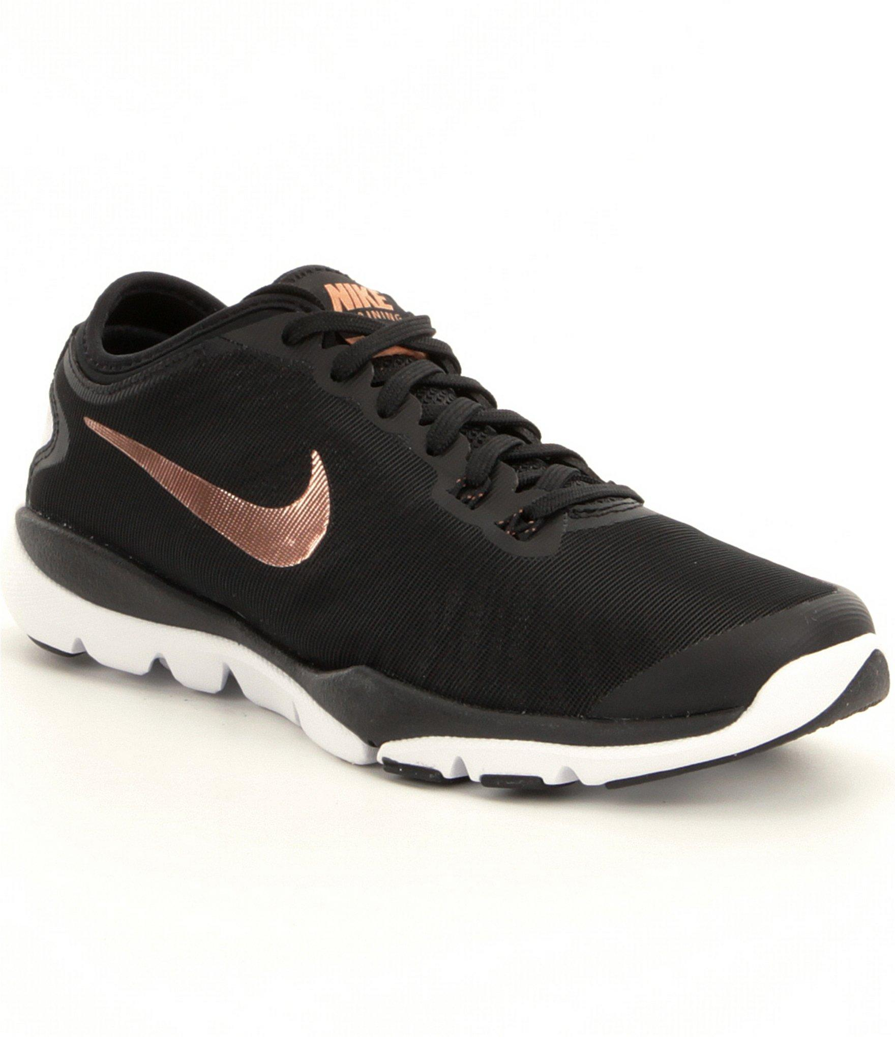 new product 42117 6f6a1 Lyst - Nike Women´s Flex Supreme Tr 4 Training Shoes in Black