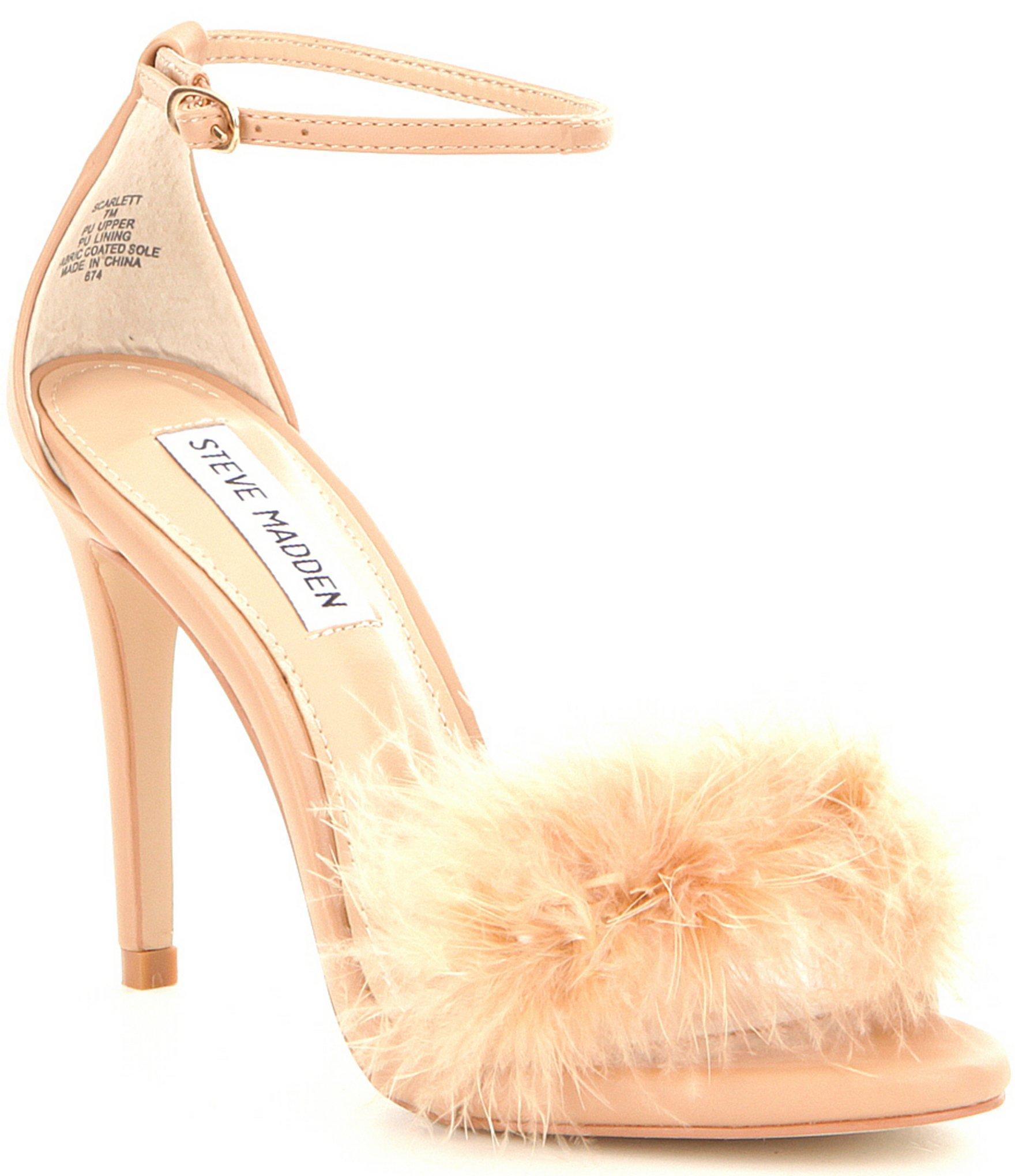 bde1331a2d5 Steve Madden Scarlett Dress Sandals in Natural - Lyst